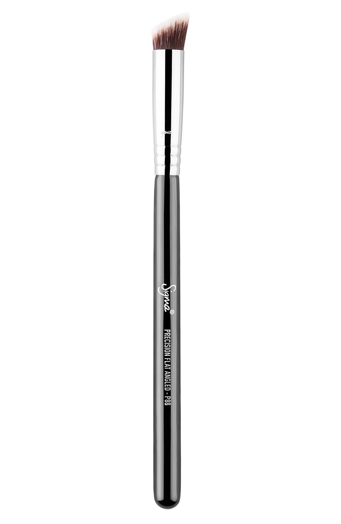 P88 Precision Flat Angled<sup>™</sup> Brush,                             Main thumbnail 1, color,                             NO COLOR