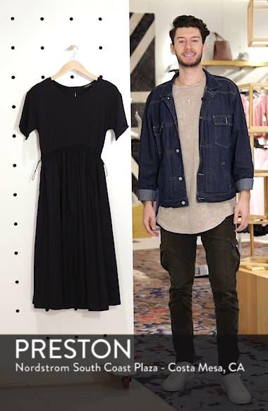 Tie Back Midi Dress, sales video thumbnail