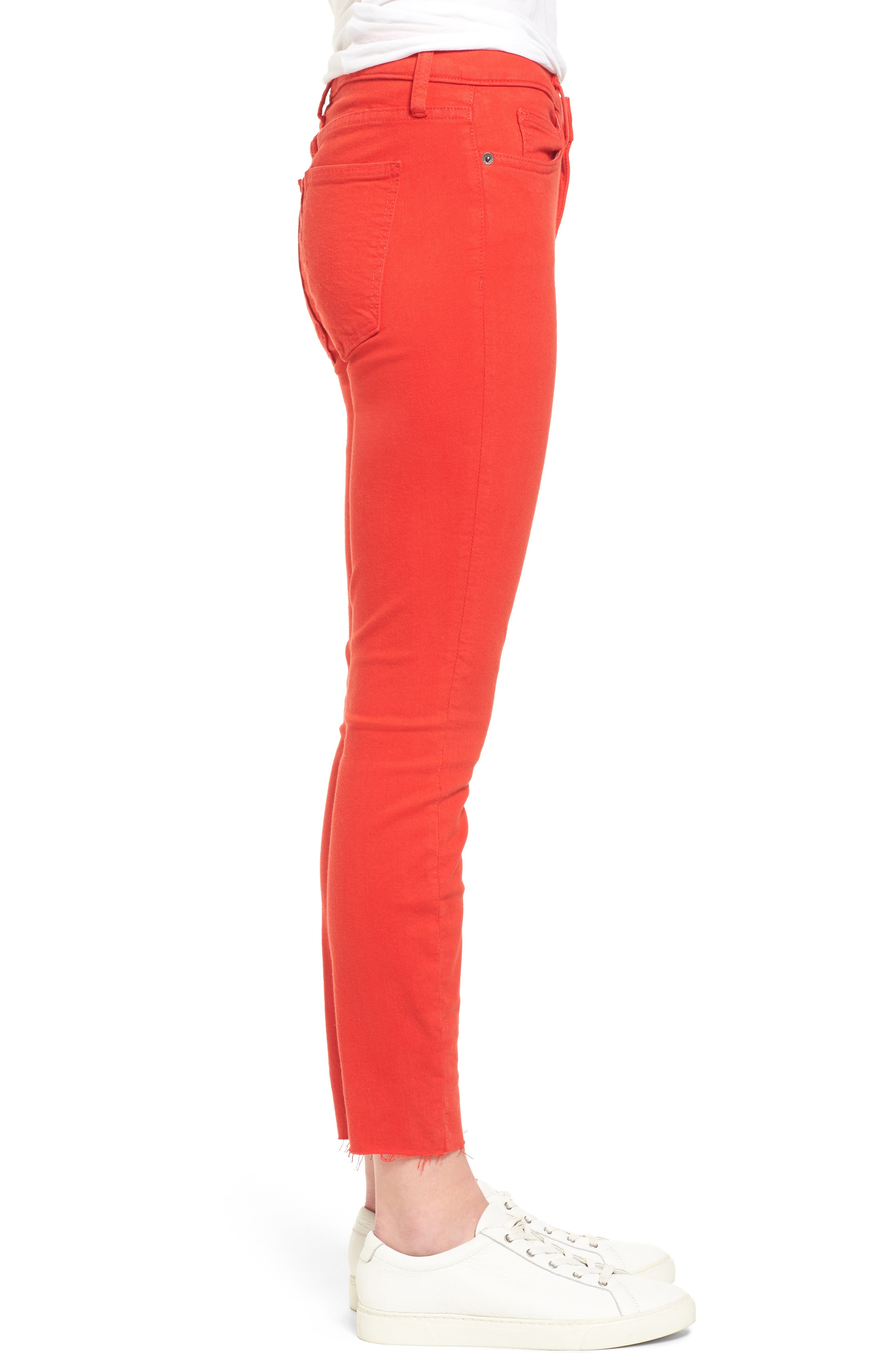 The Stiletto Crop Skinny Jeans,                             Alternate thumbnail 3, color,