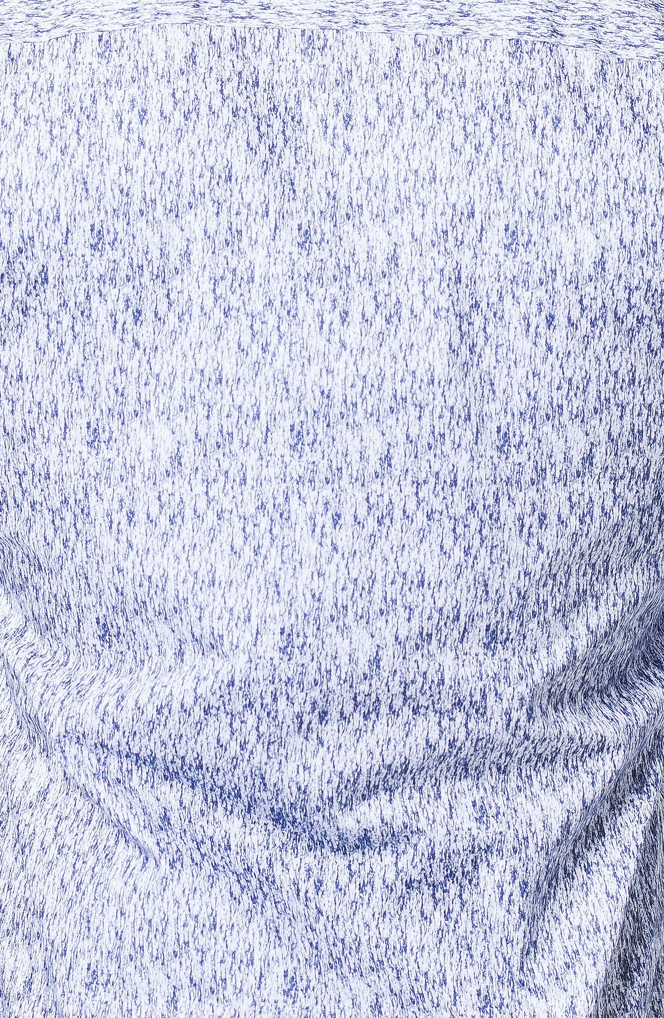 Einstein Ecrito Trim Fit Sport Shirt,                             Alternate thumbnail 3, color,                             BLUE
