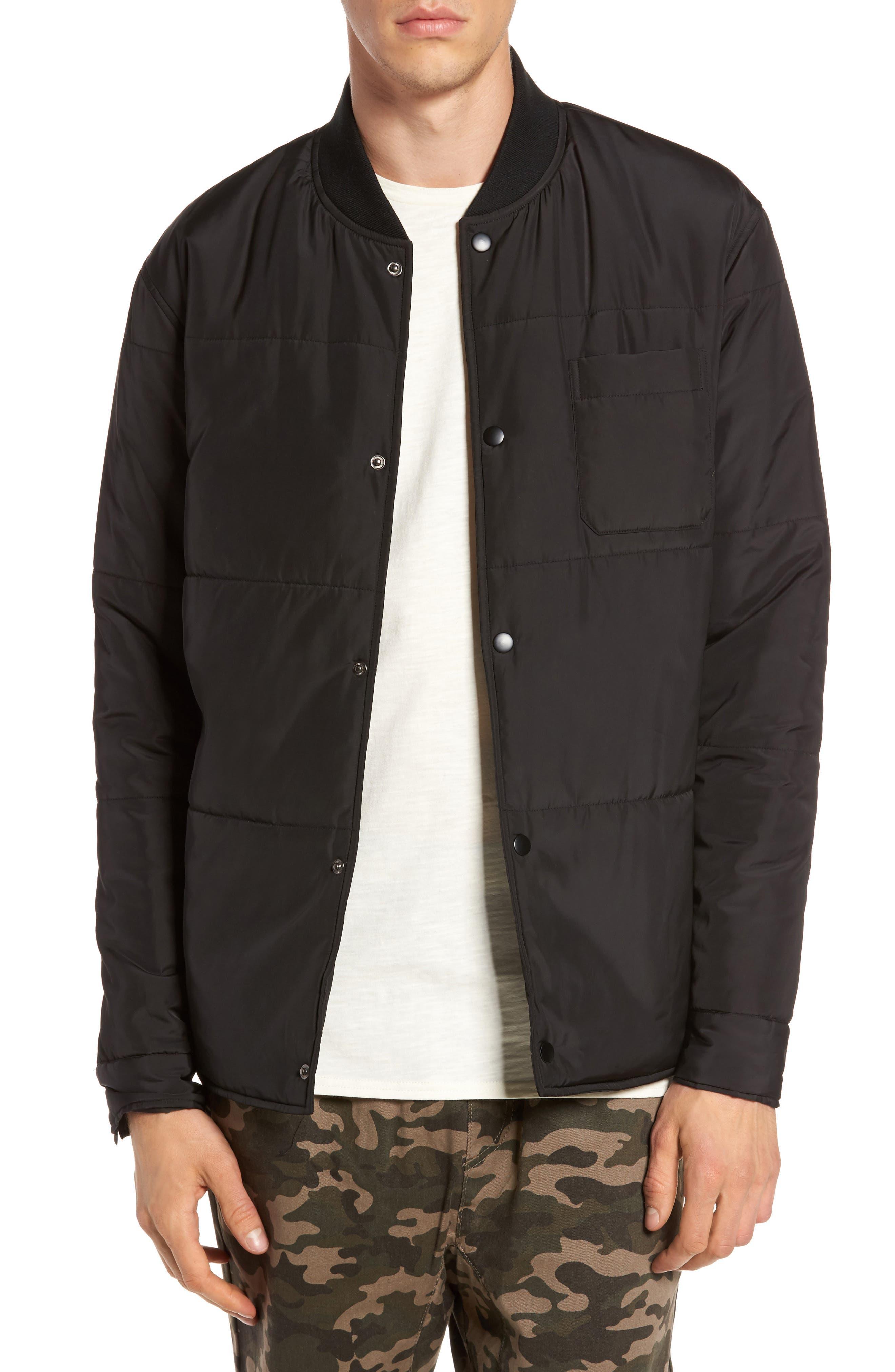Bundy Bomber Jacket,                         Main,                         color, 001