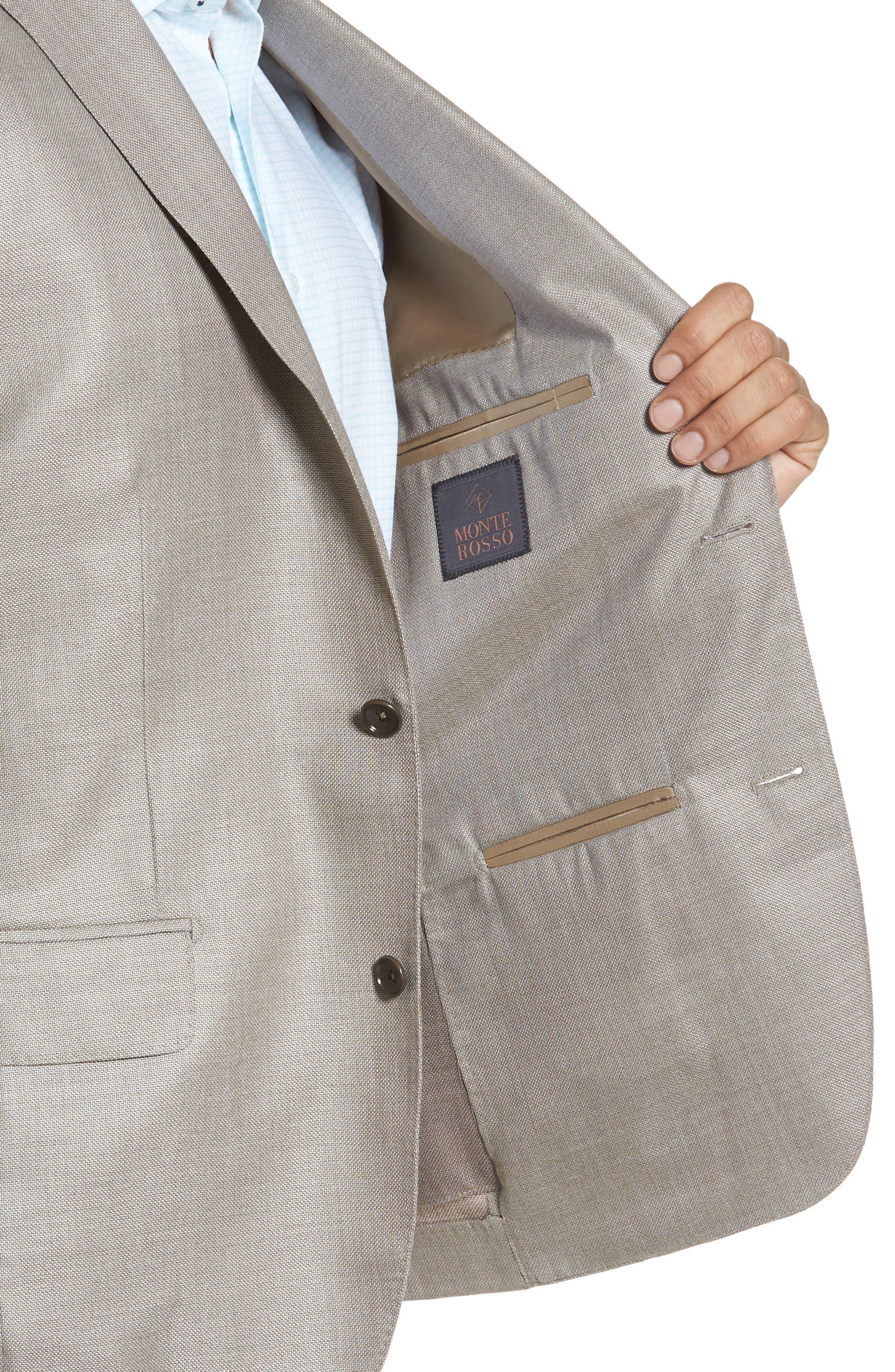 Trim Fit Cashmere & Silk Blazer,                             Alternate thumbnail 14, color,