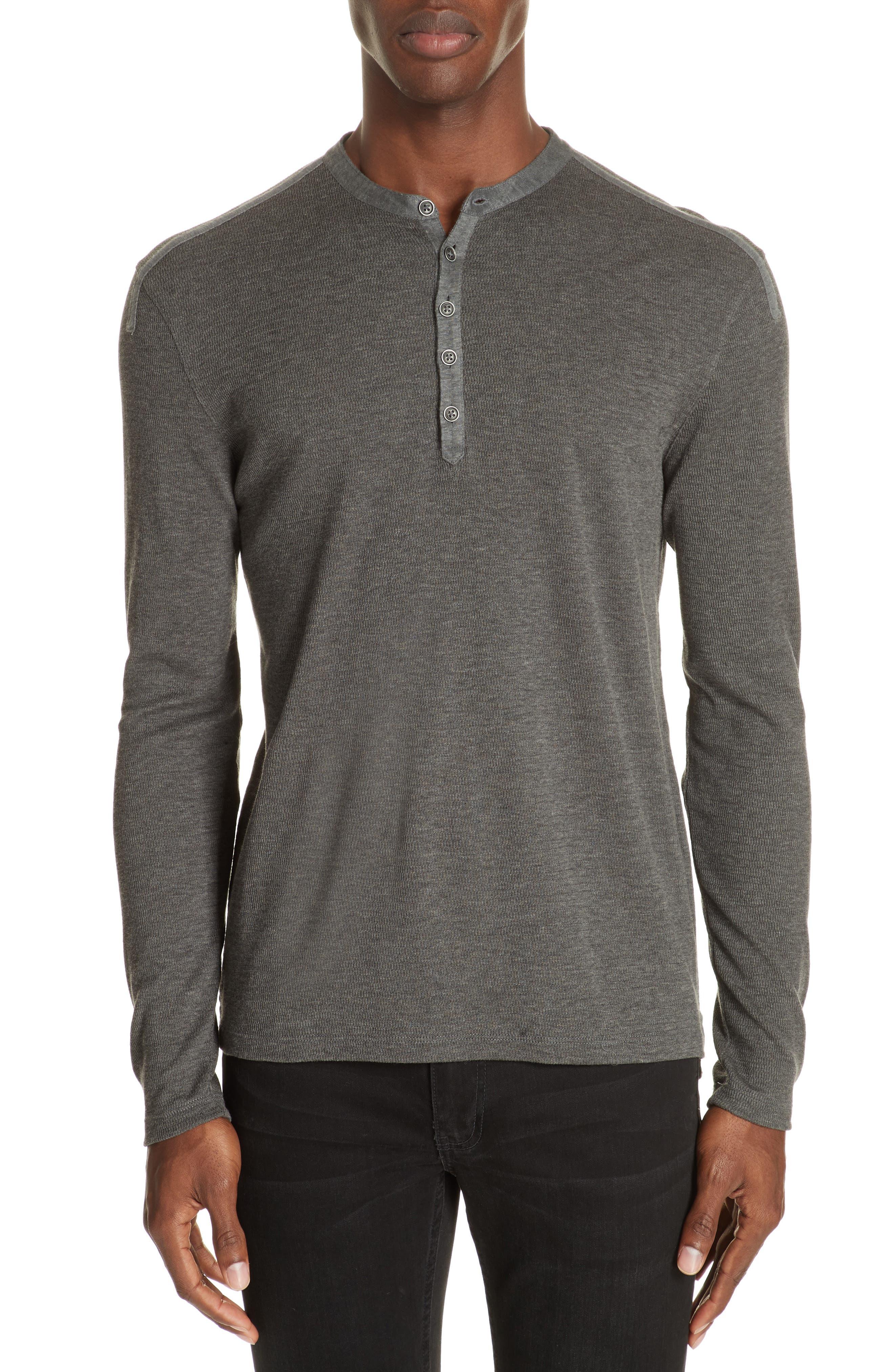 Henley Shirt,                         Main,                         color, 001