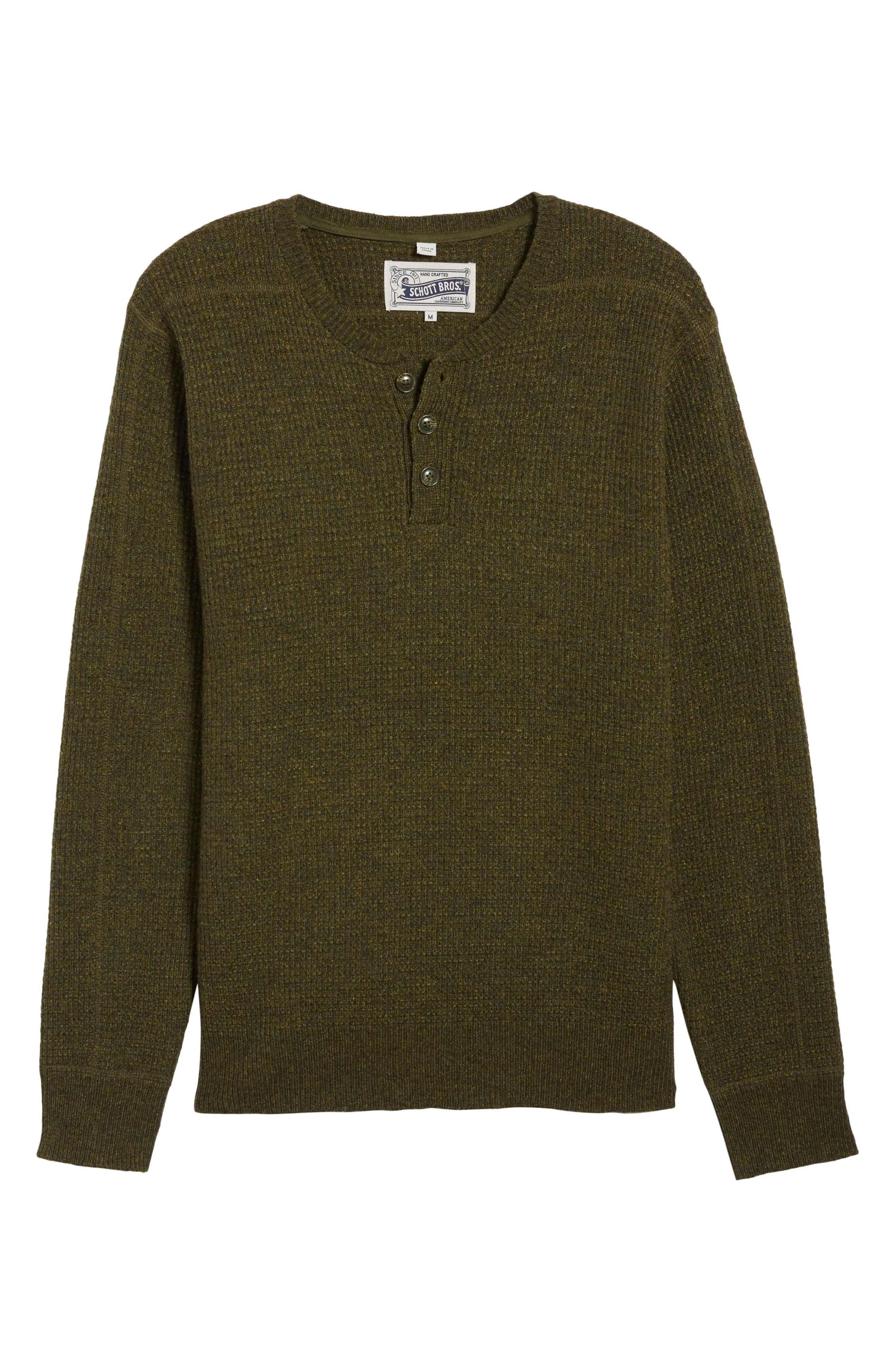 Thermal Henley,                             Alternate thumbnail 39, color,