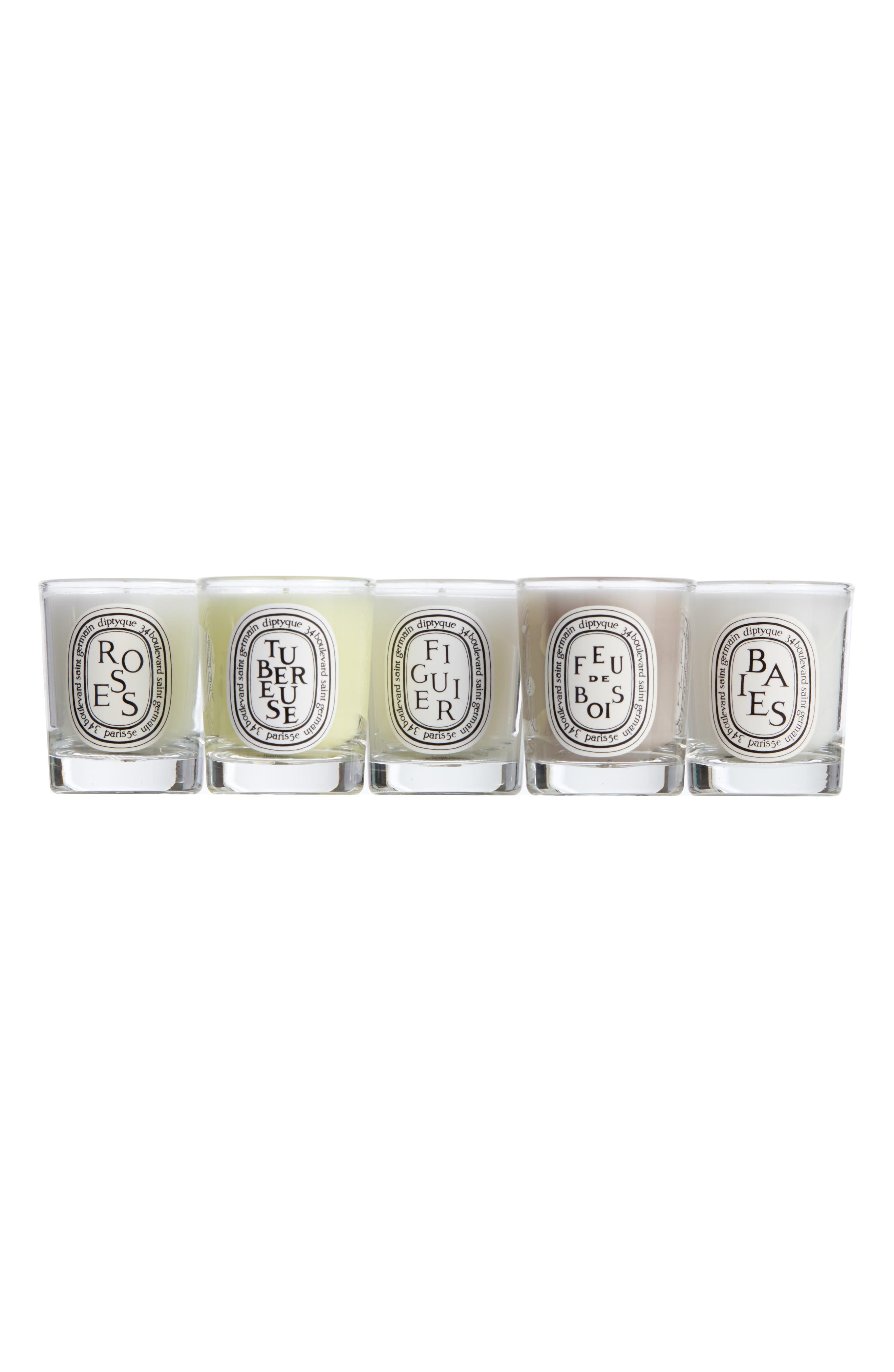 Mini Candle Set,                             Main thumbnail 1, color,                             000