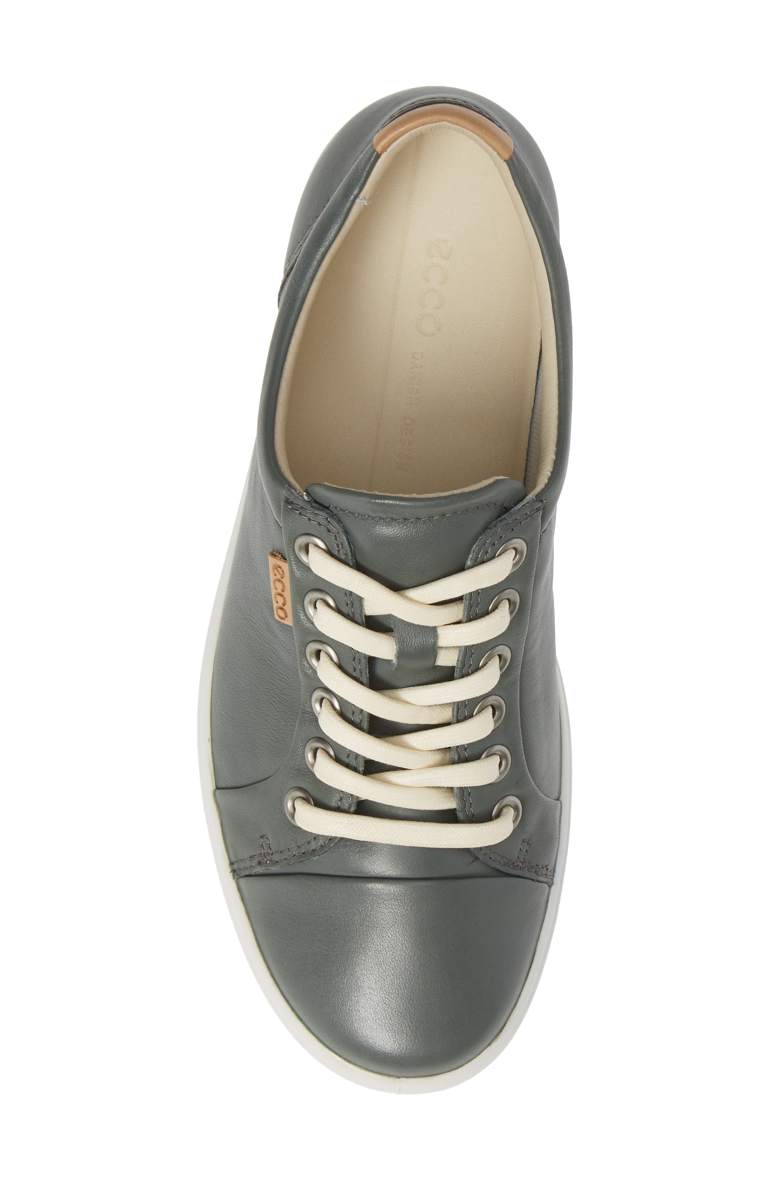 Soft 7 Sneaker,                             Alternate thumbnail 5, color,                             MOON LEATHER