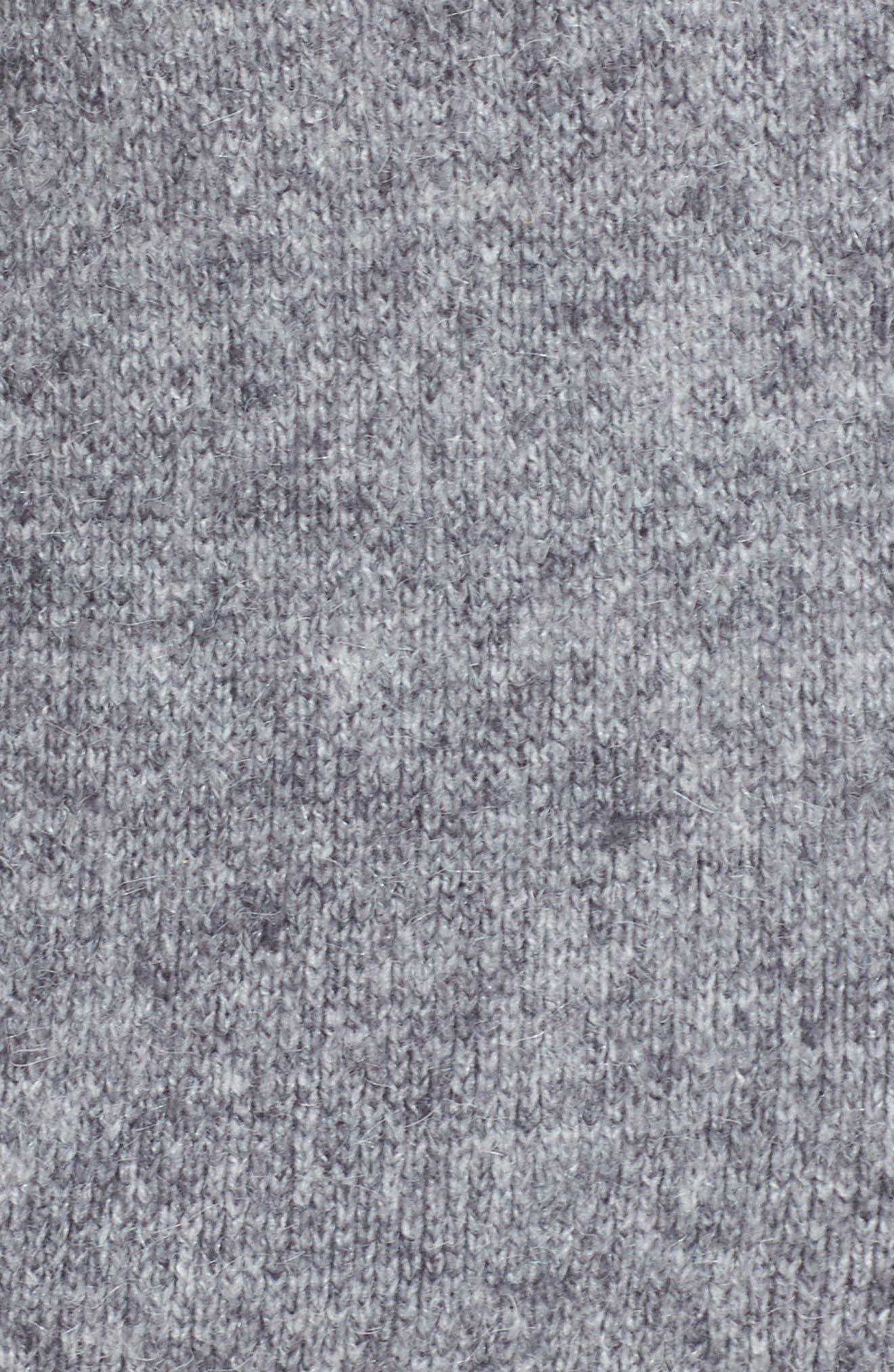 Zanja Embroidered Knit Bomber Jacket,                             Alternate thumbnail 6, color,