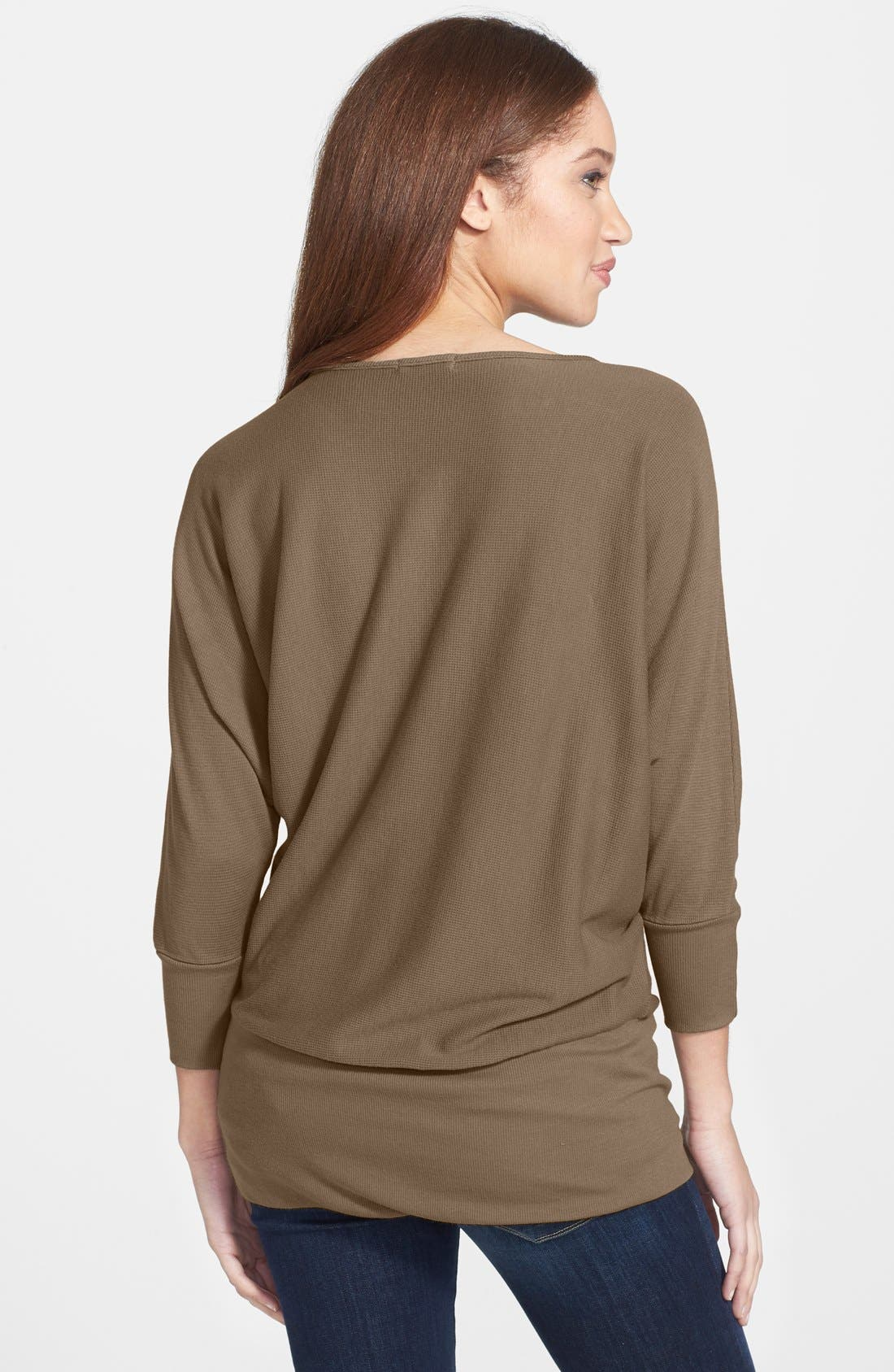 'Aidan' Drape Neck Thermal Top,                             Alternate thumbnail 14, color,
