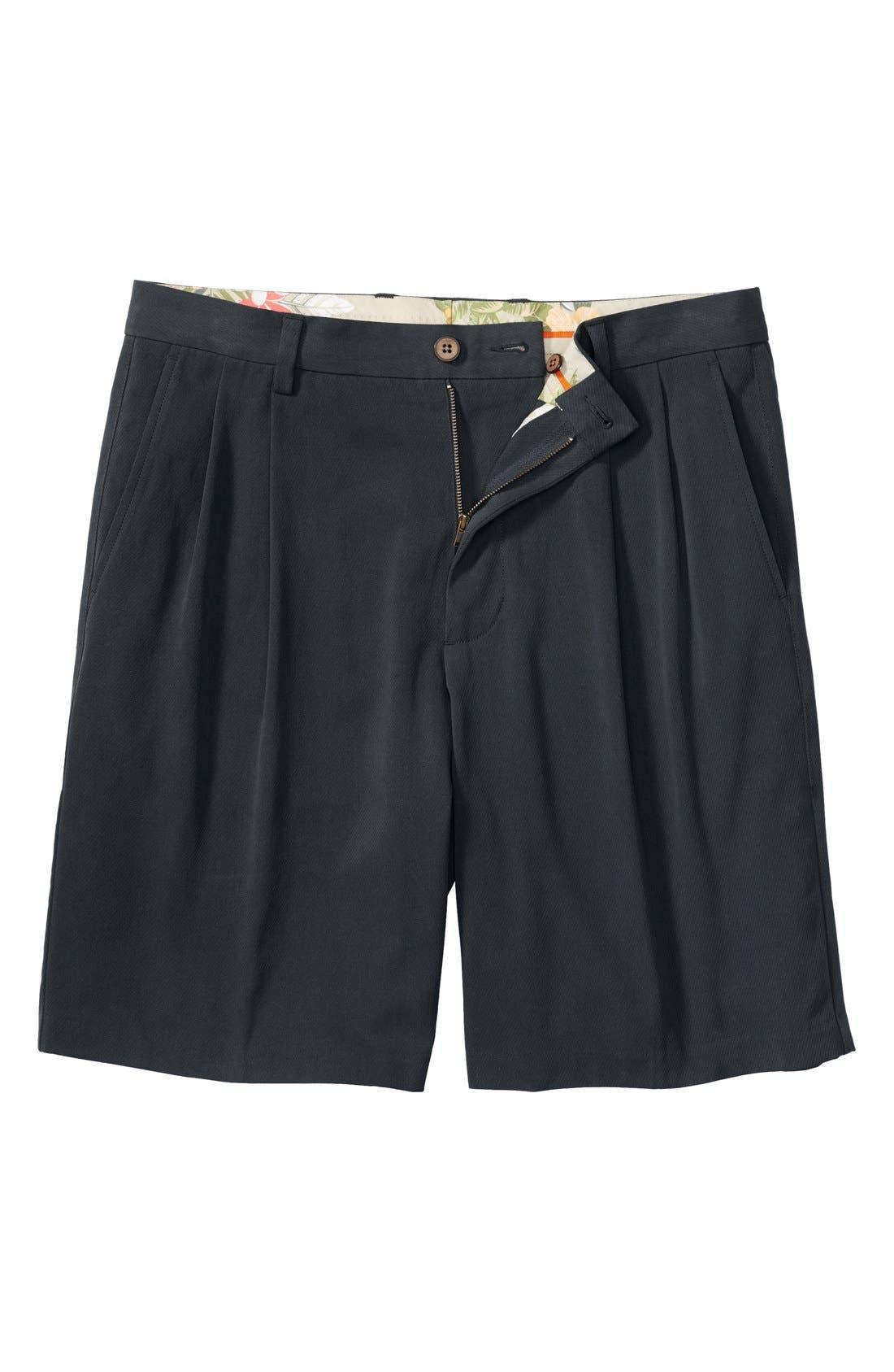 St. Thomas Pleated Shorts,                             Main thumbnail 2, color,