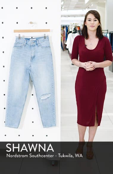 Mom High Waist Jeans, sales video thumbnail