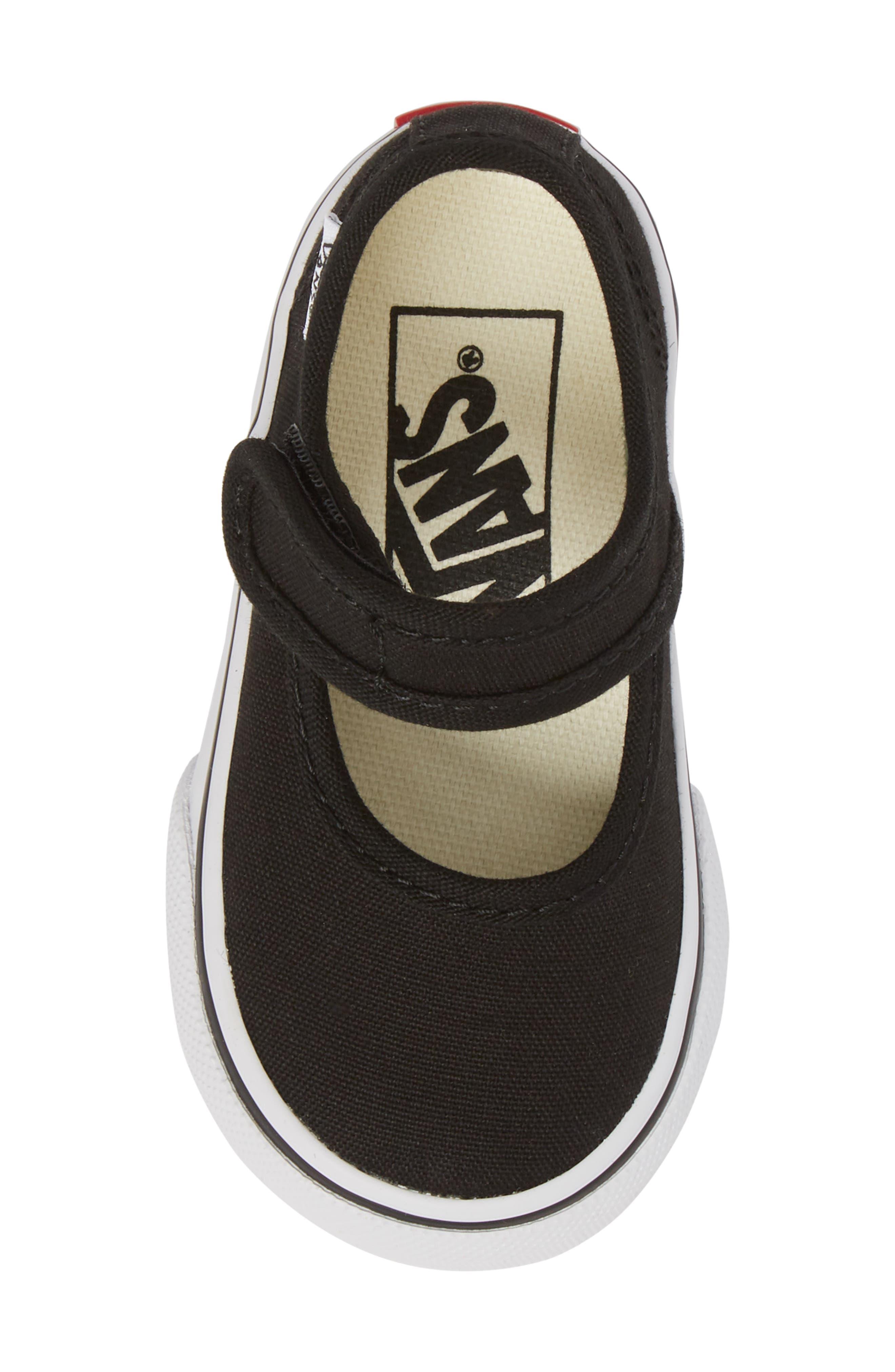 VANS,                             Mary Jane Sneaker,                             Alternate thumbnail 5, color,                             001
