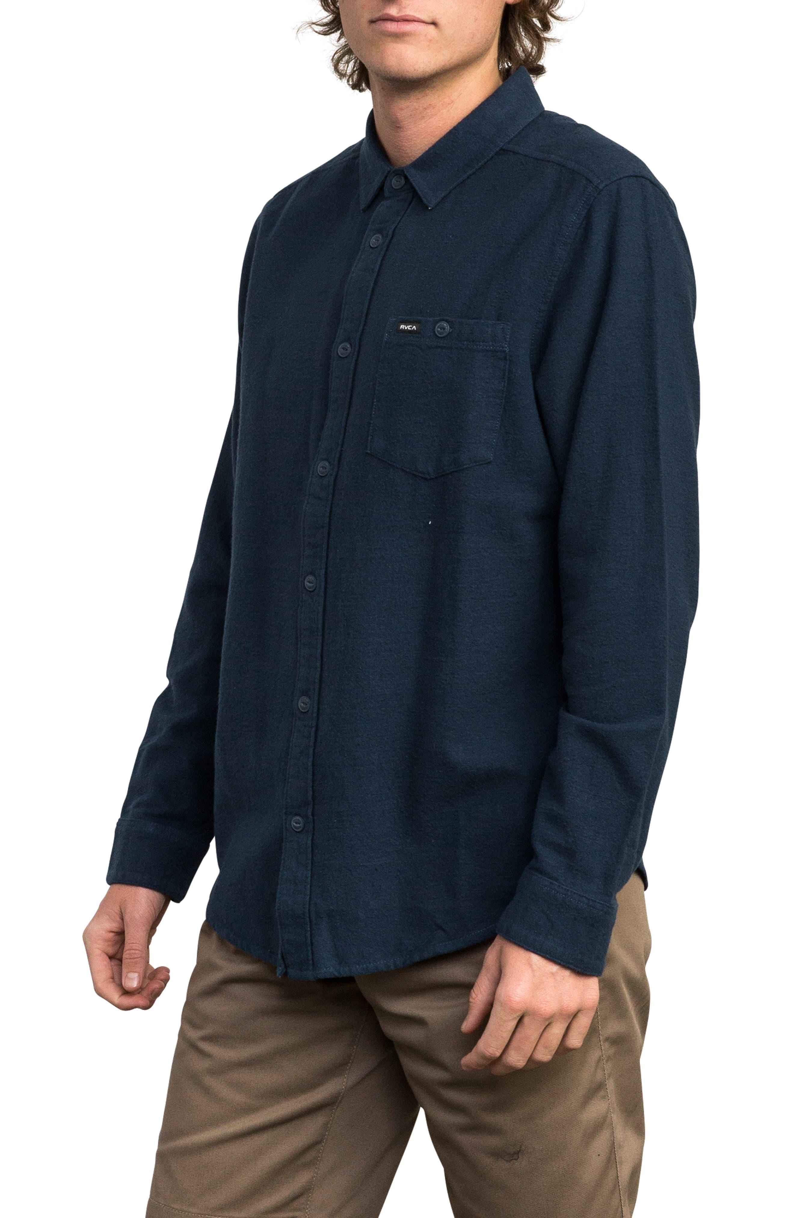 Public Works Flannel Shirt,                             Alternate thumbnail 3, color,                             487