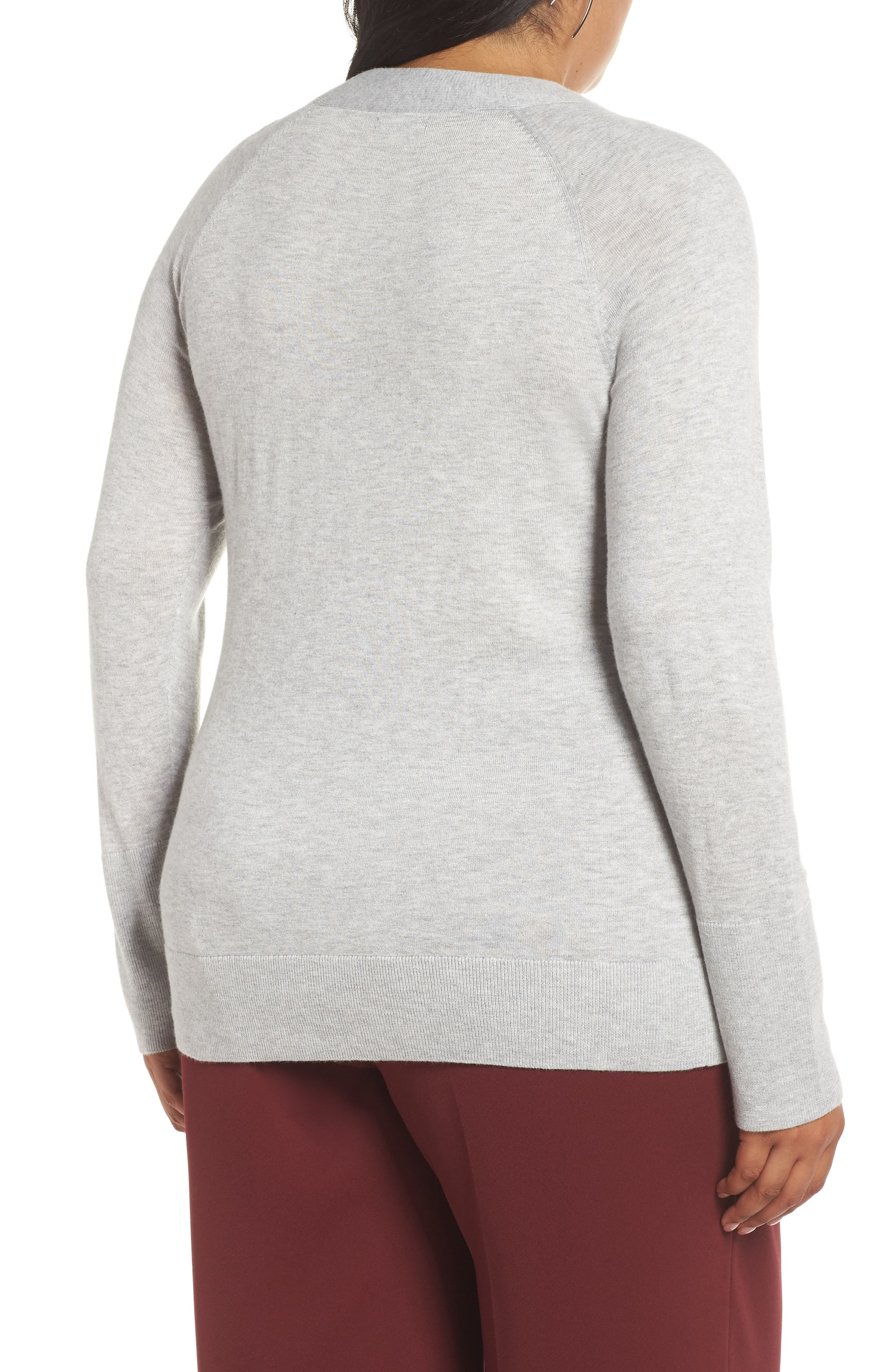 Mock Neck Sweater,                             Alternate thumbnail 2, color,                             050