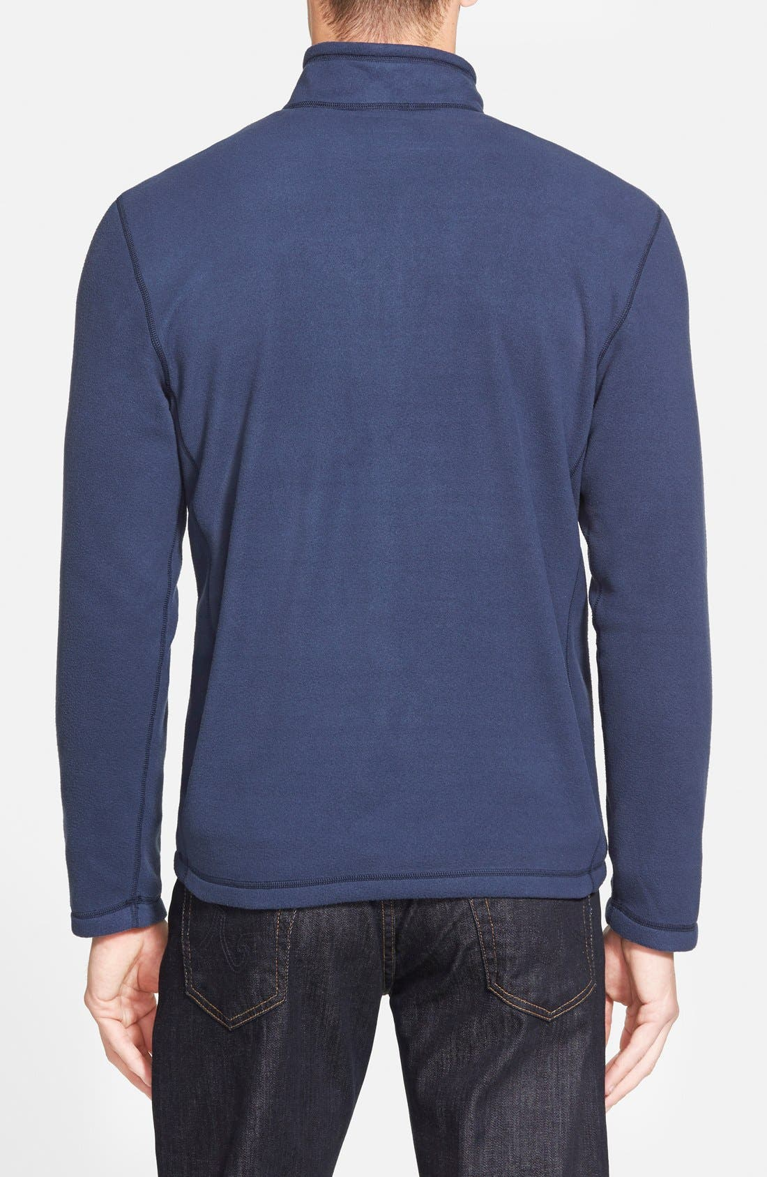 'TKA 100 Glacier' Quarter Zip Fleece Pullover,                             Alternate thumbnail 80, color,