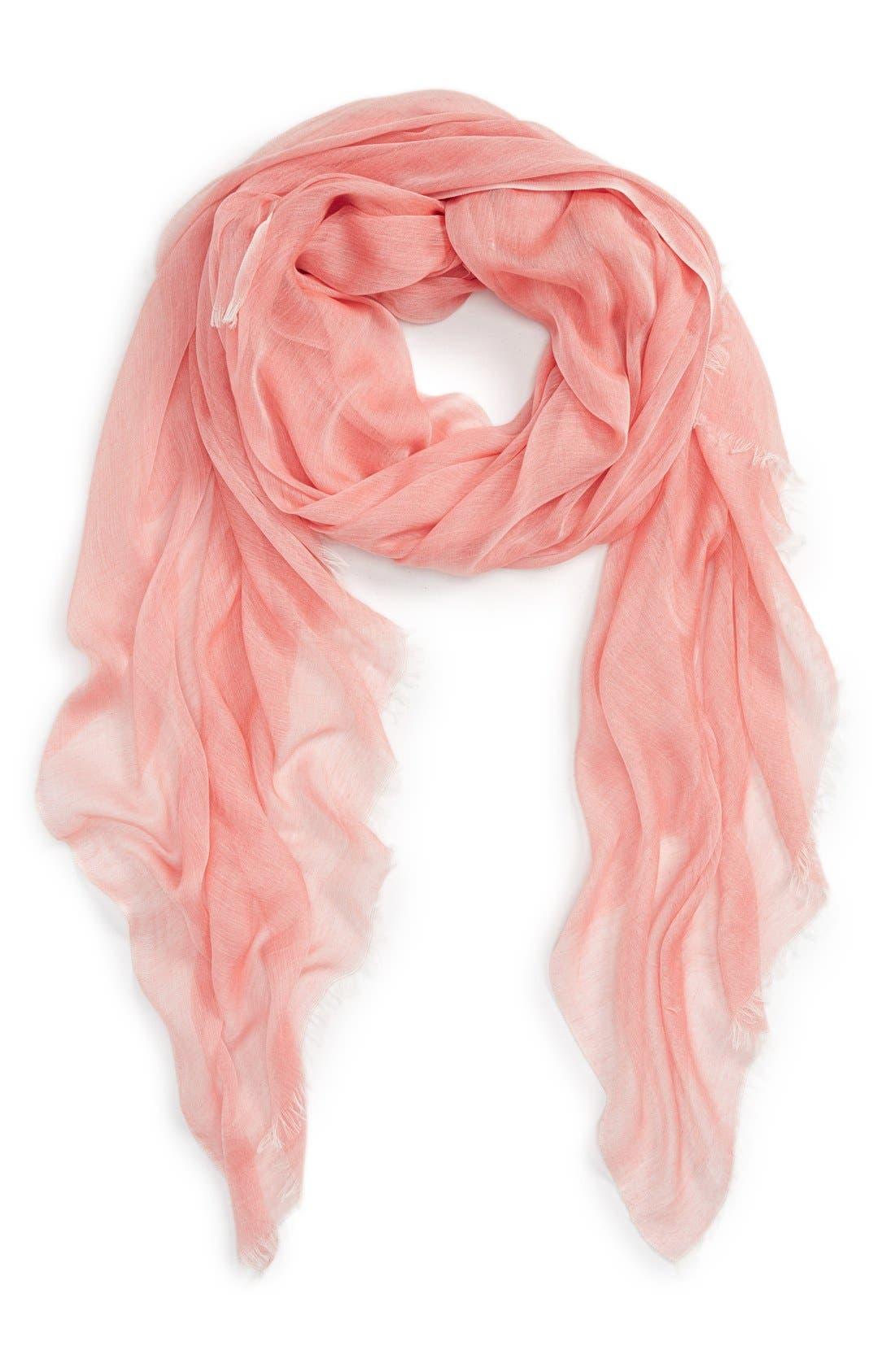 Modal Silk Blend Scarf,                             Main thumbnail 40, color,