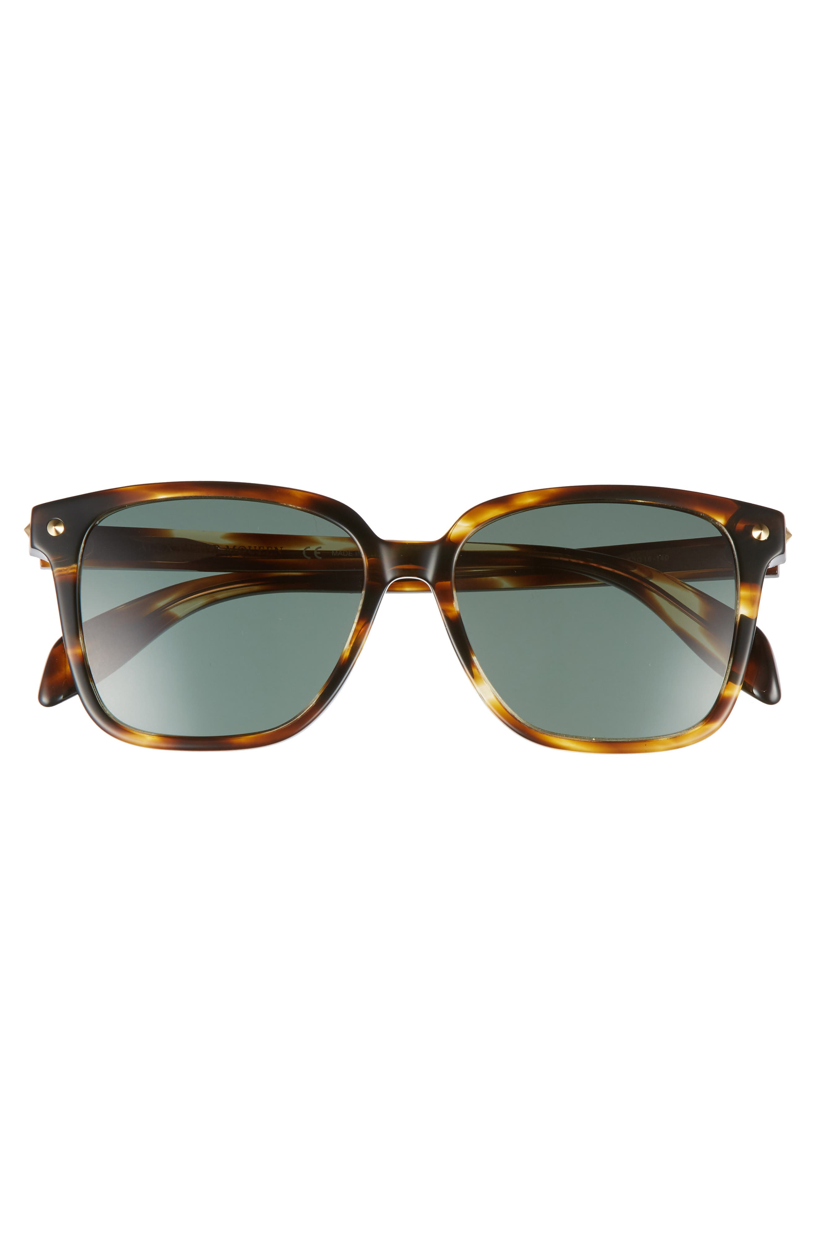 53mm Square Sunglasses,                             Alternate thumbnail 6, color,
