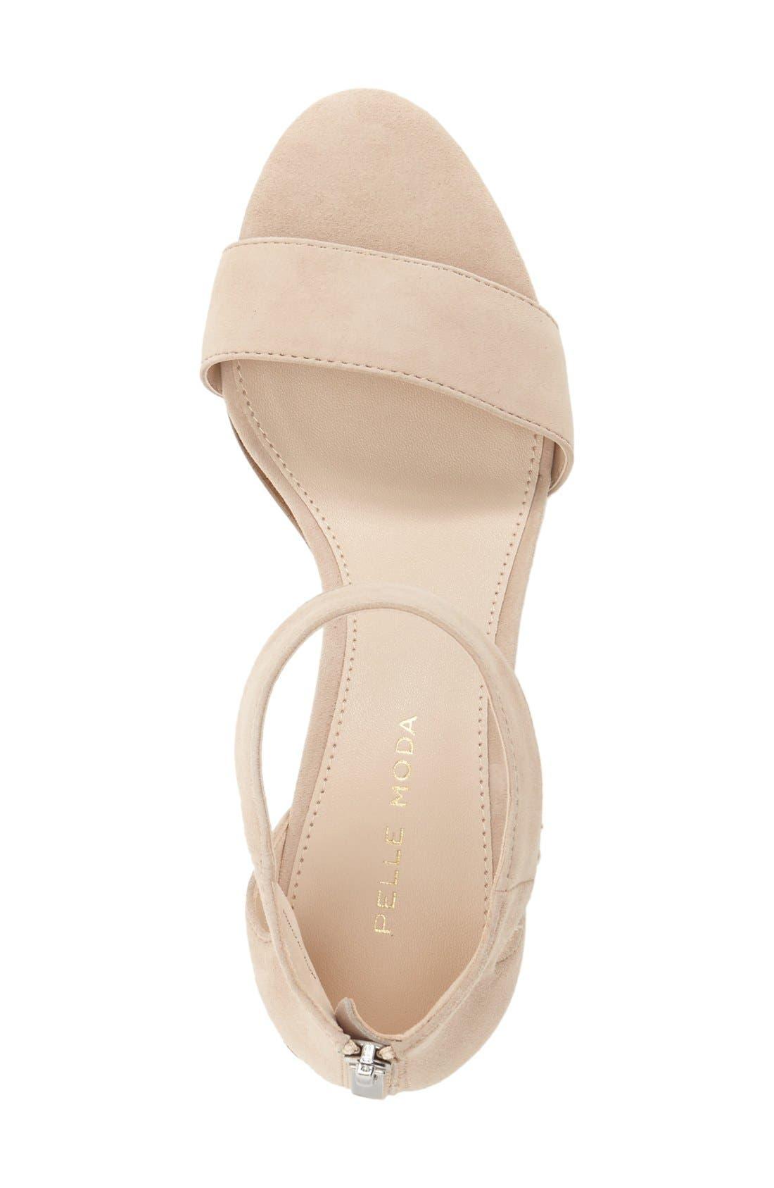 Pella Moda 'Urban' Block Heel Sandal,                             Alternate thumbnail 9, color,