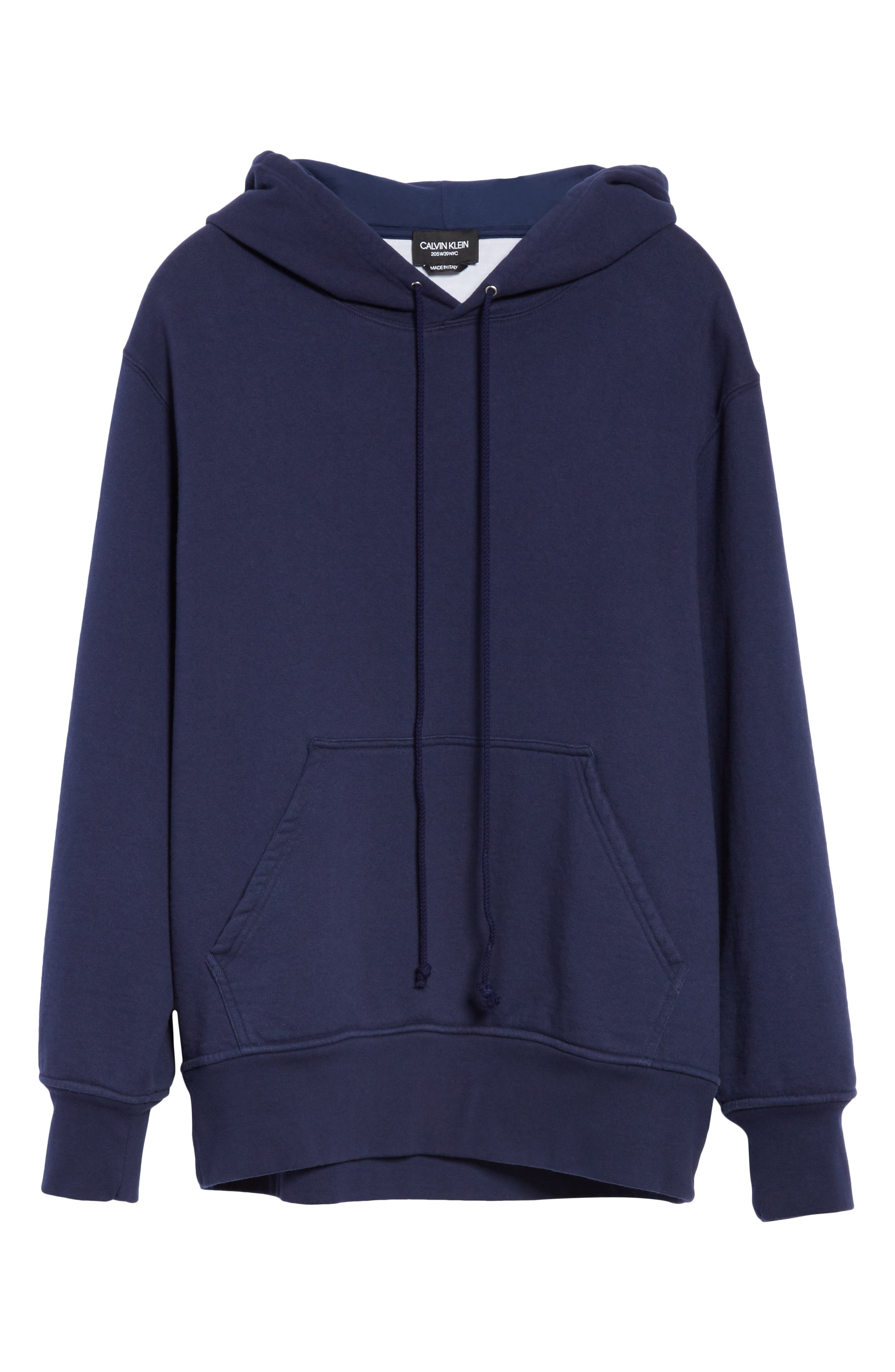 Oversize Hoodie,                             Alternate thumbnail 6, color,                             MARINE