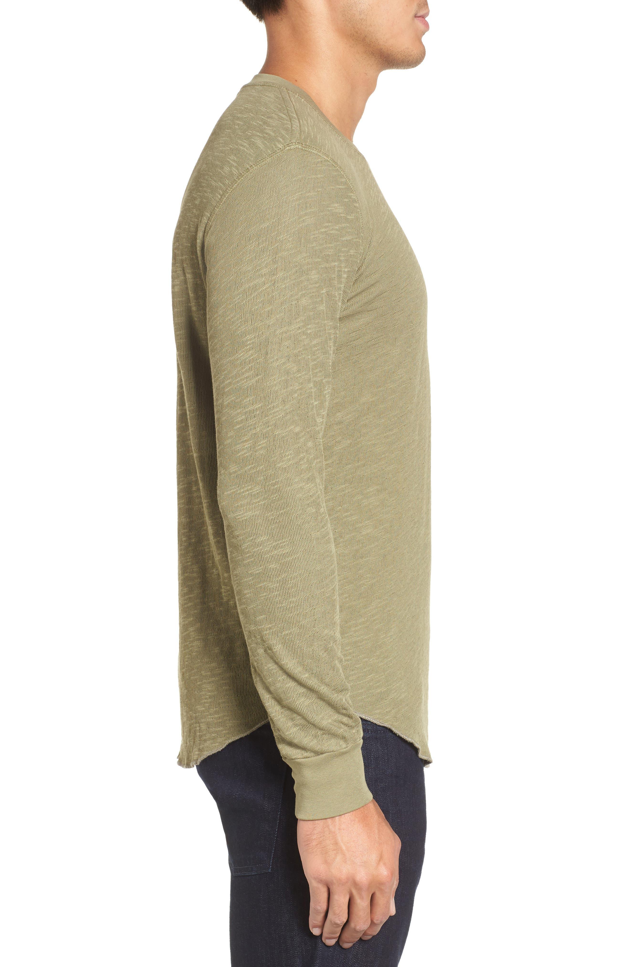 Double Layer Slim Crewneck T-Shirt,                             Alternate thumbnail 19, color,