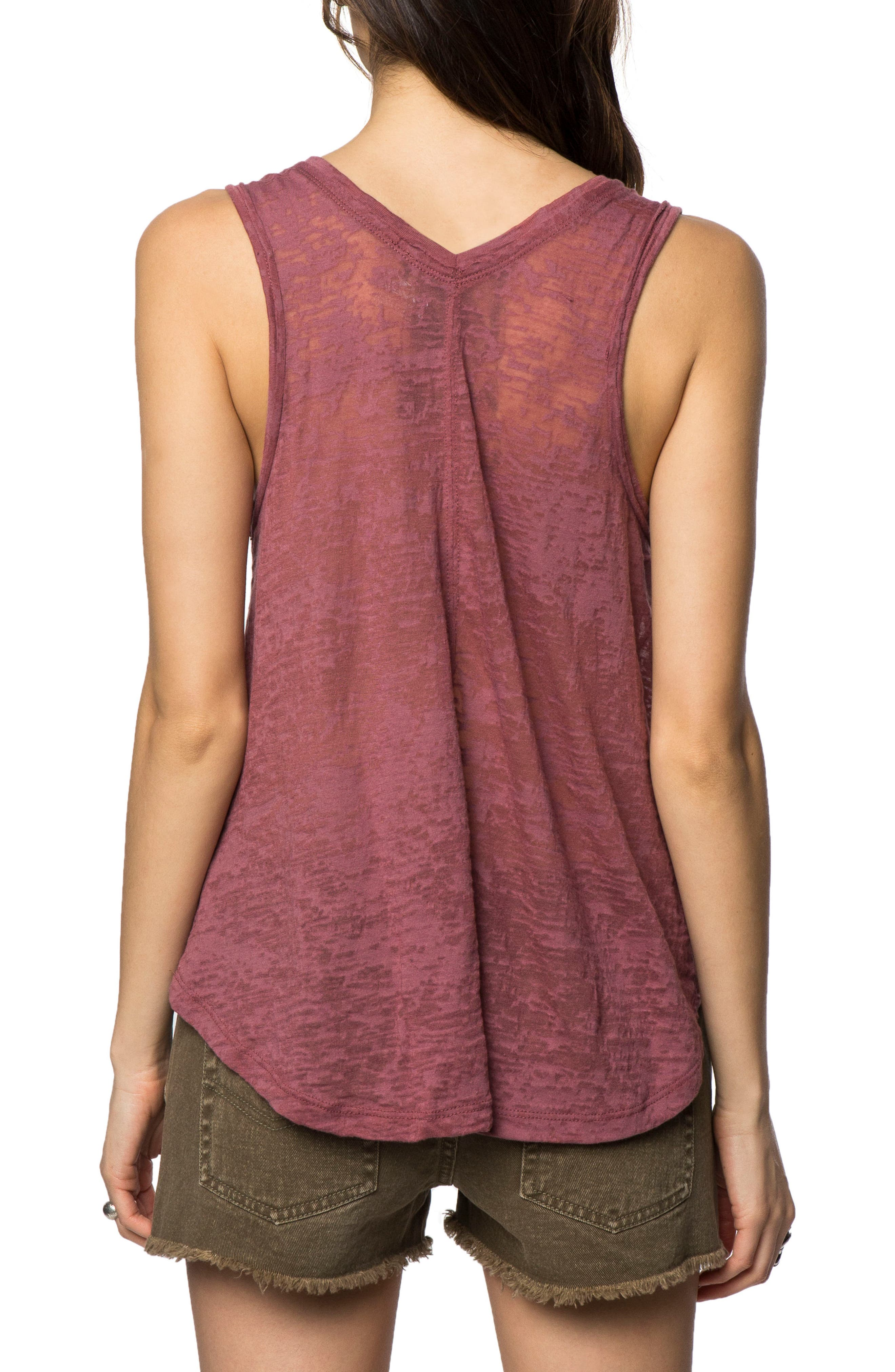 Lei Over Graphic Tank Top,                             Alternate thumbnail 2, color,                             600