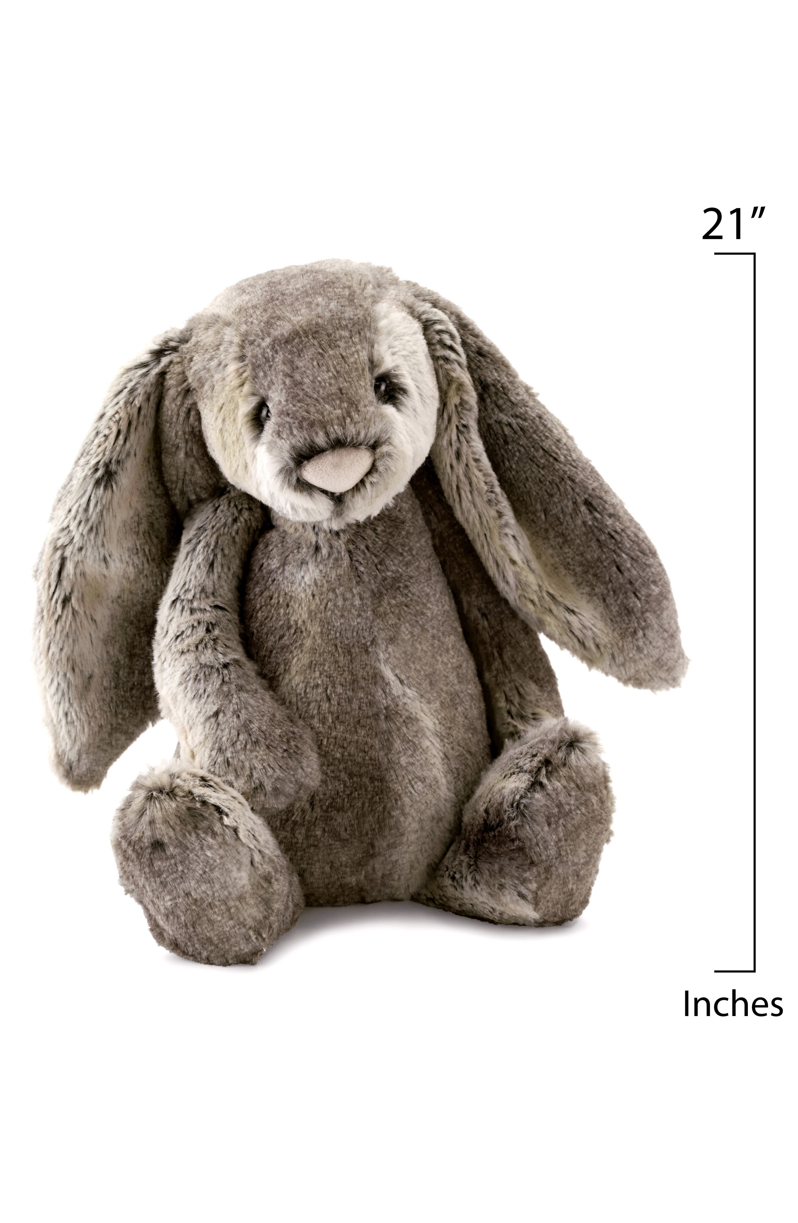 'Huge Woodland Bunny' Stuffed Animal,                             Alternate thumbnail 2, color,                             060