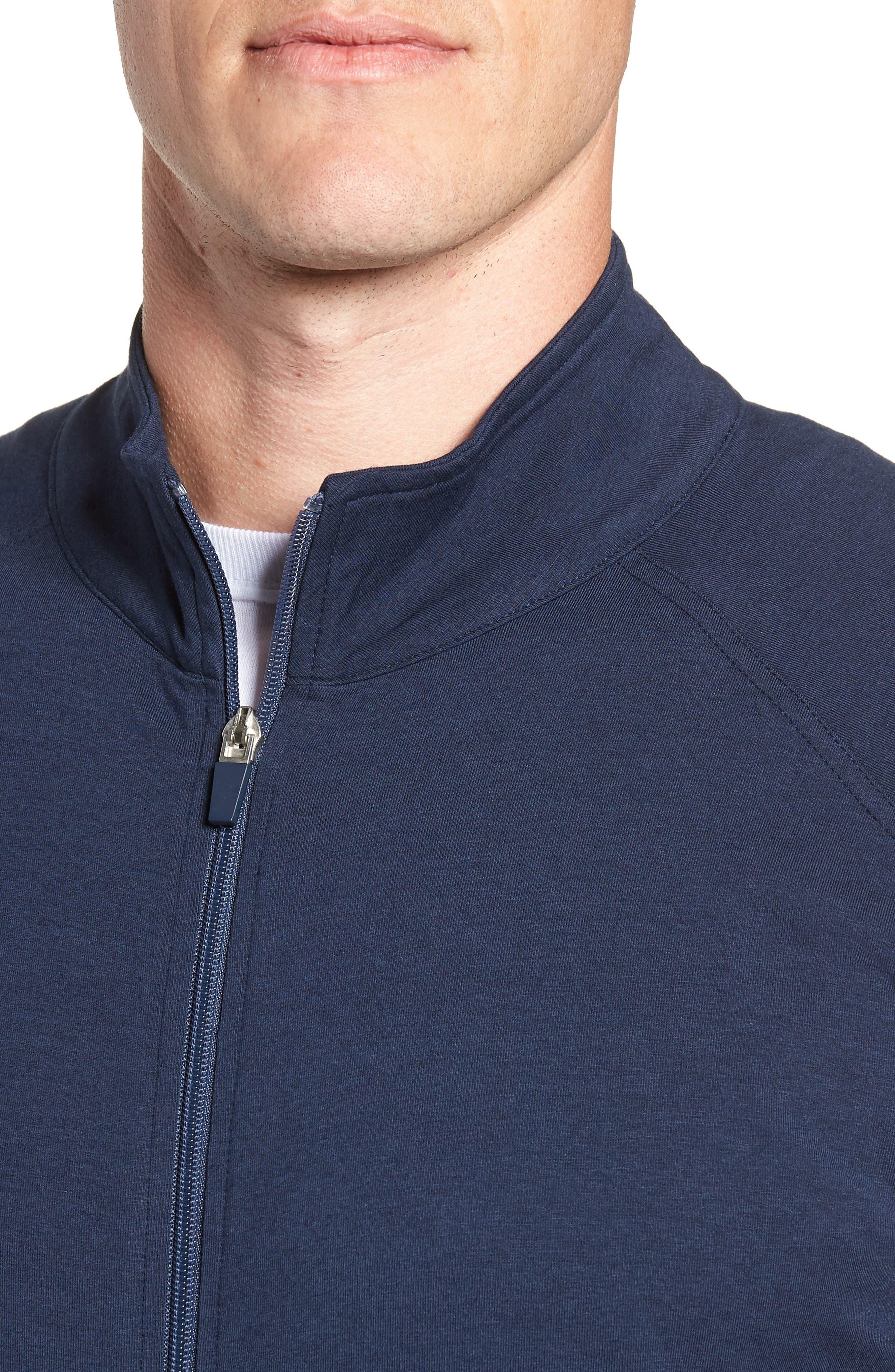 TASC PERFORMANCE,                             Carrollton Zip Jacket,                             Alternate thumbnail 4, color,                             CLASSIC NAVY