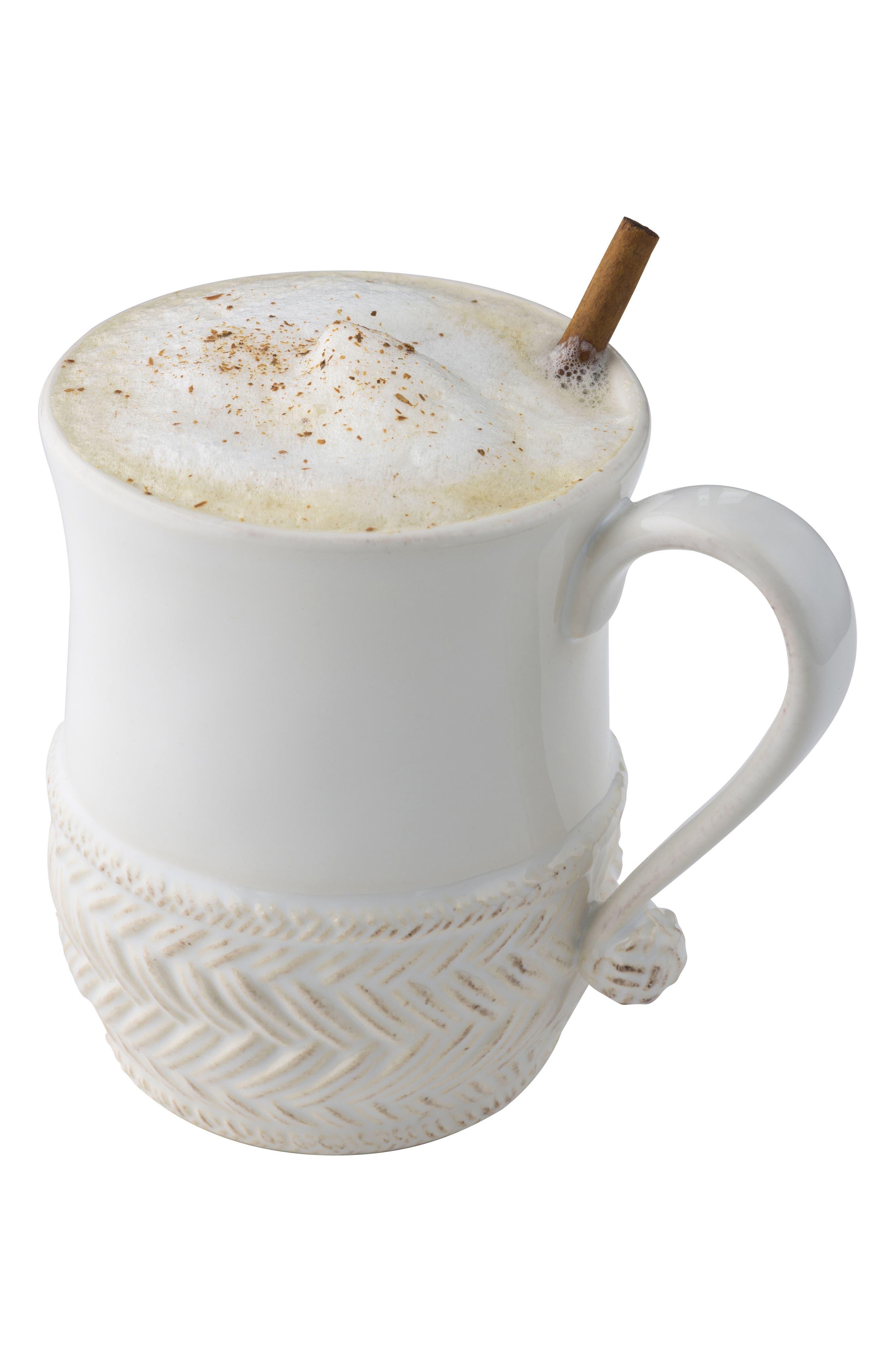 Le Panier Ceramic Mug,                             Alternate thumbnail 2, color,                             WHITEWASH