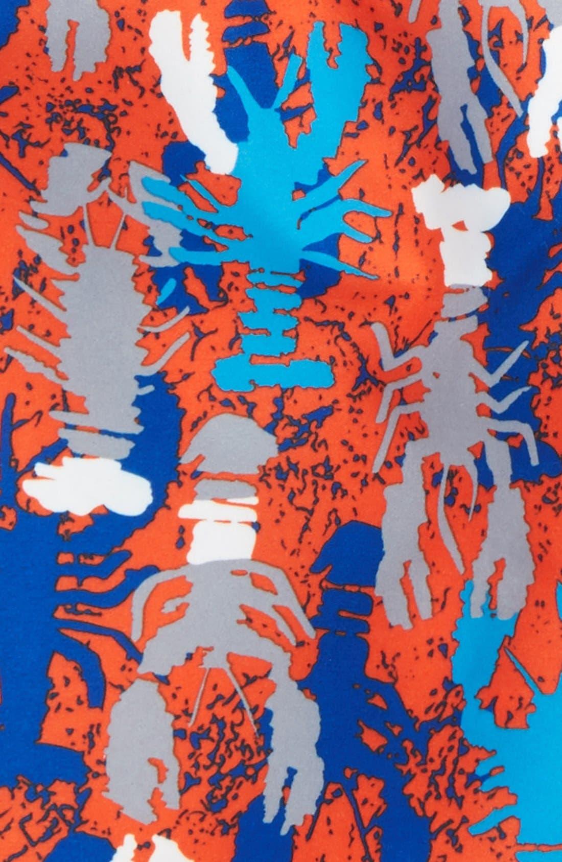 'Sand 'N My Trunks' Swim Trunks,                             Alternate thumbnail 55, color,