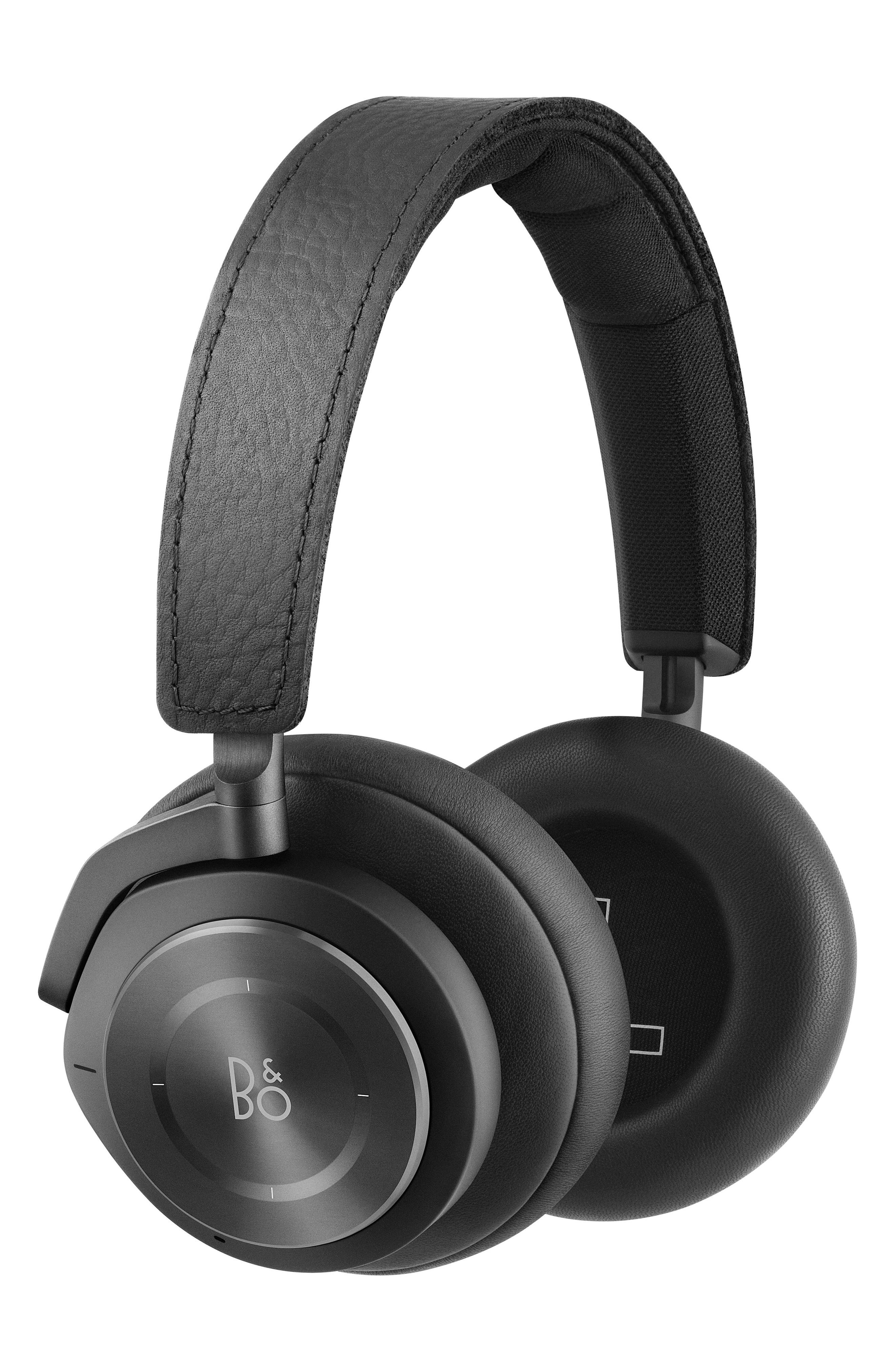 Beoplay H9I Noise Canceling Bluetooth<sup>®</sup> Headphones,                             Alternate thumbnail 4, color,                             001
