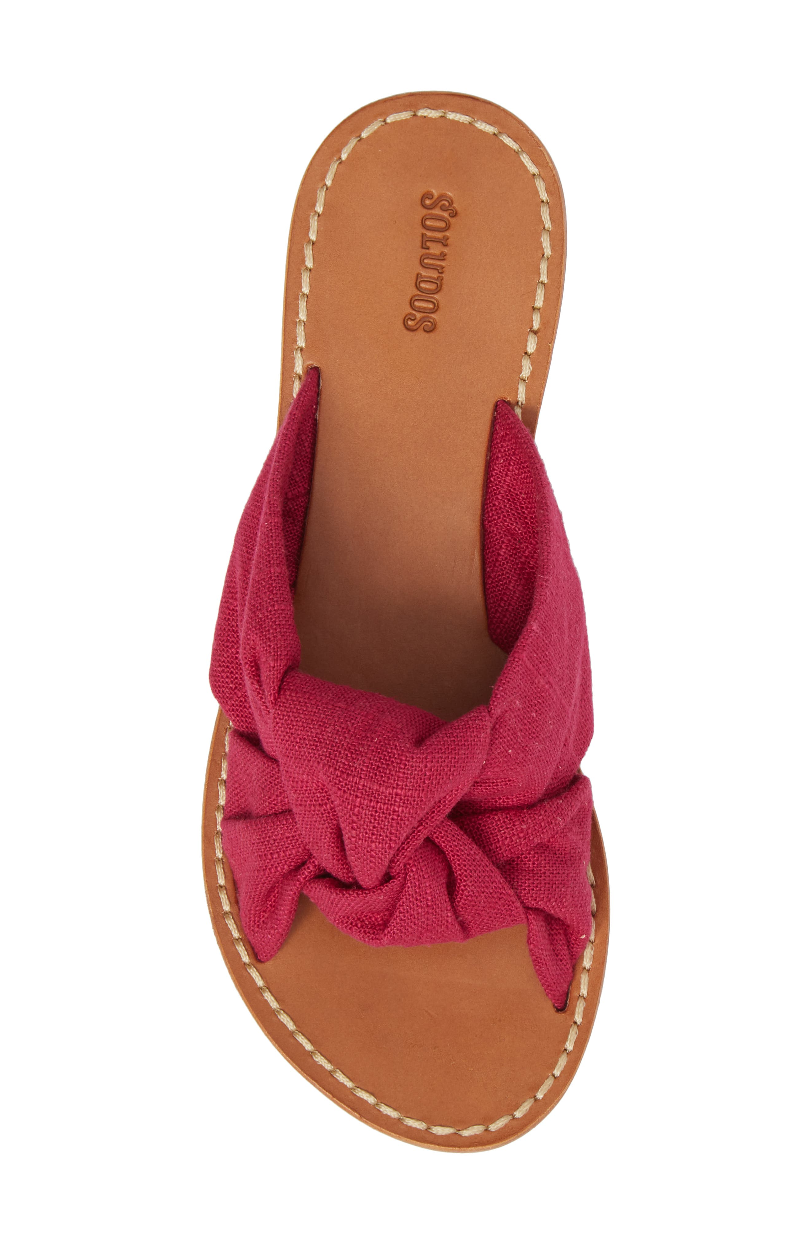 Knotted Slide Sandal,                             Alternate thumbnail 5, color,                             652