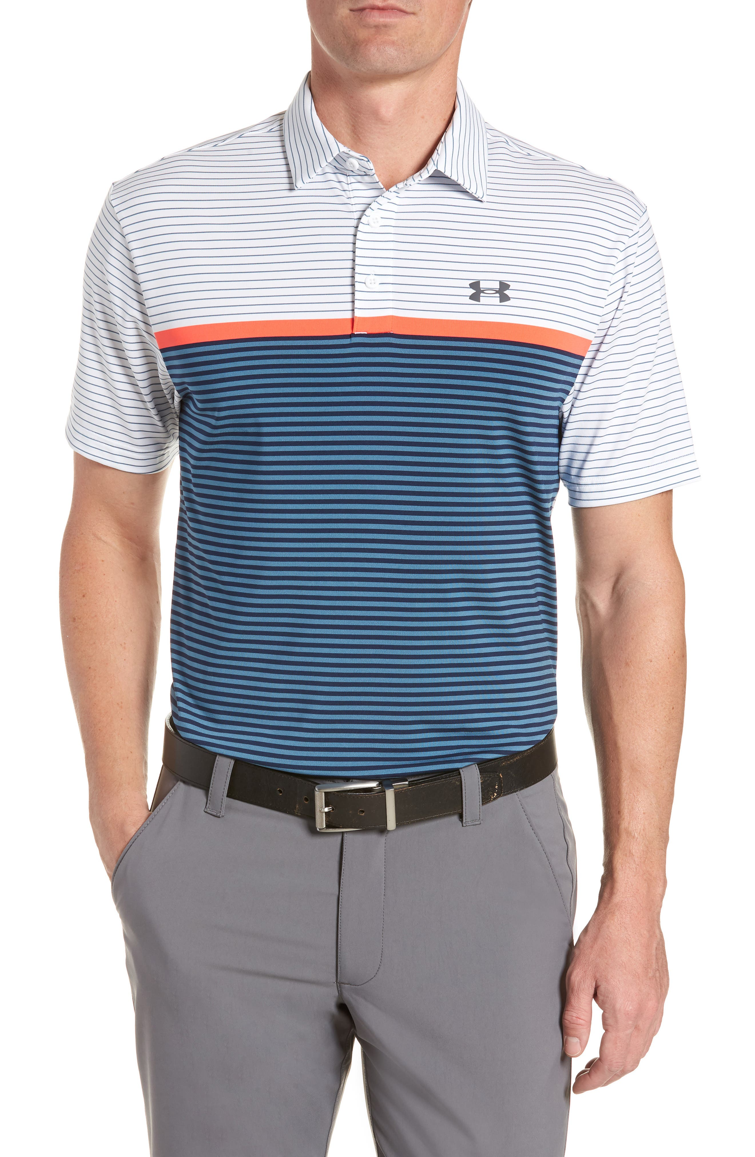 'Playoff' Loose Fit Short Sleeve Polo,                             Main thumbnail 5, color,