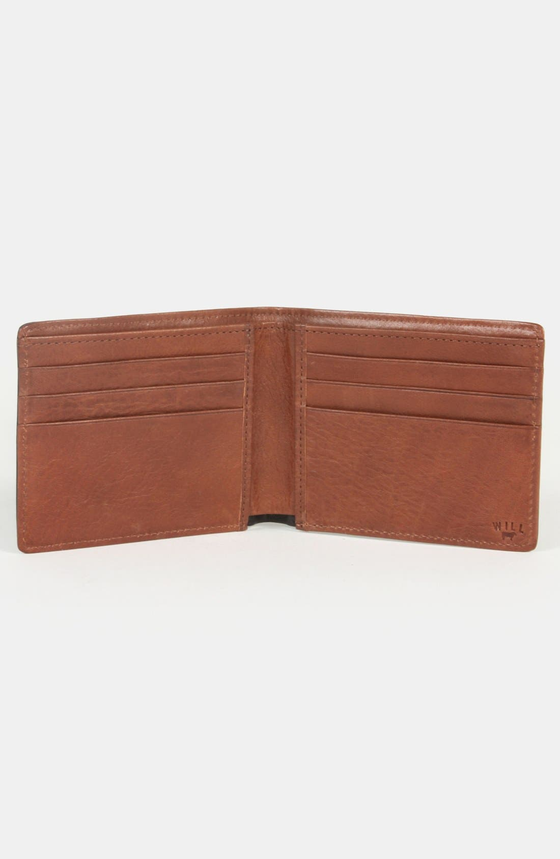 WILL LEATHER GOODS,                             'Barnard' Wallet,                             Alternate thumbnail 5, color,                             001
