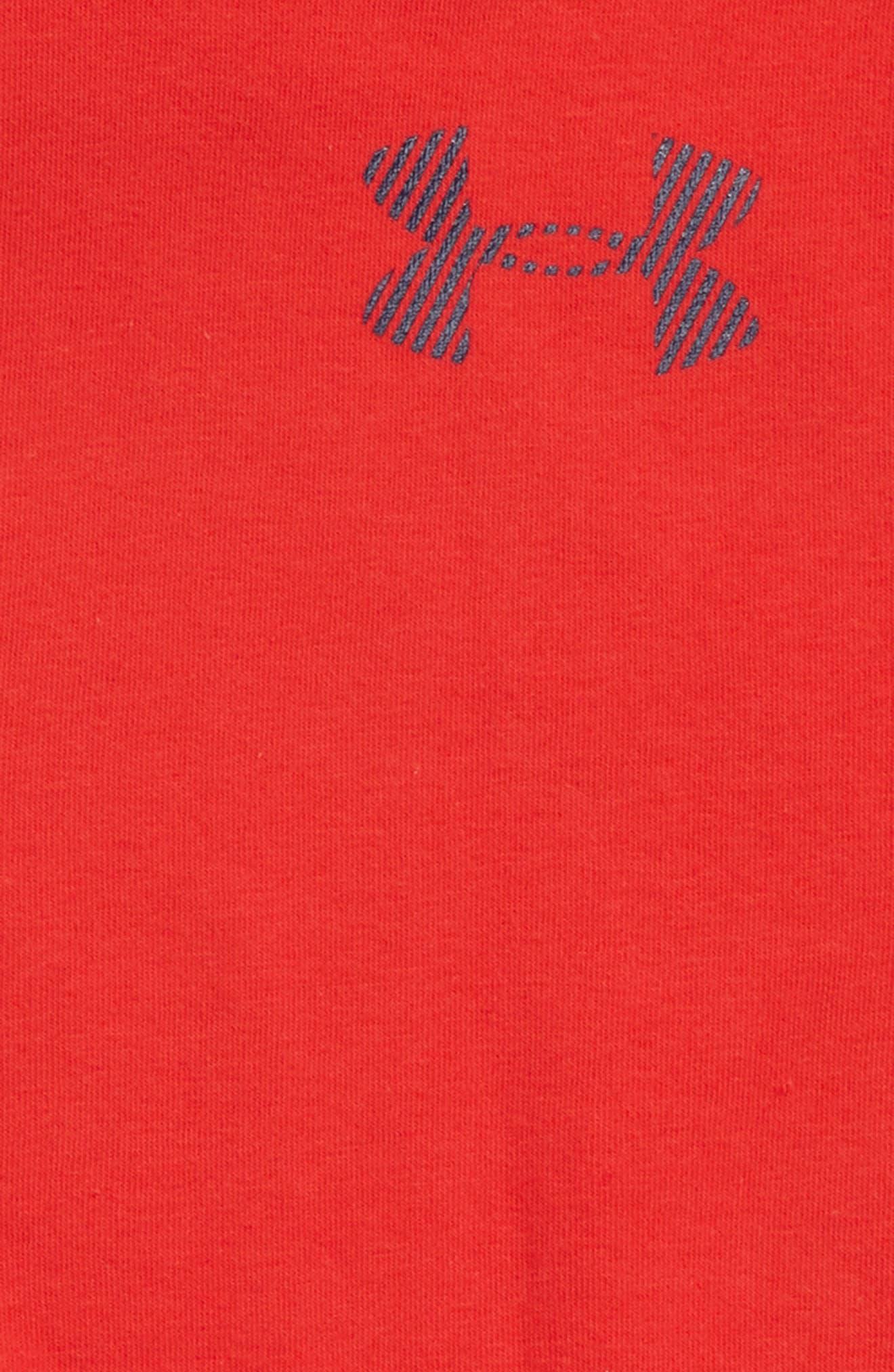 Threadborne Sleeveless Hoodie,                             Alternate thumbnail 2, color,                             RED/ ACADEMY