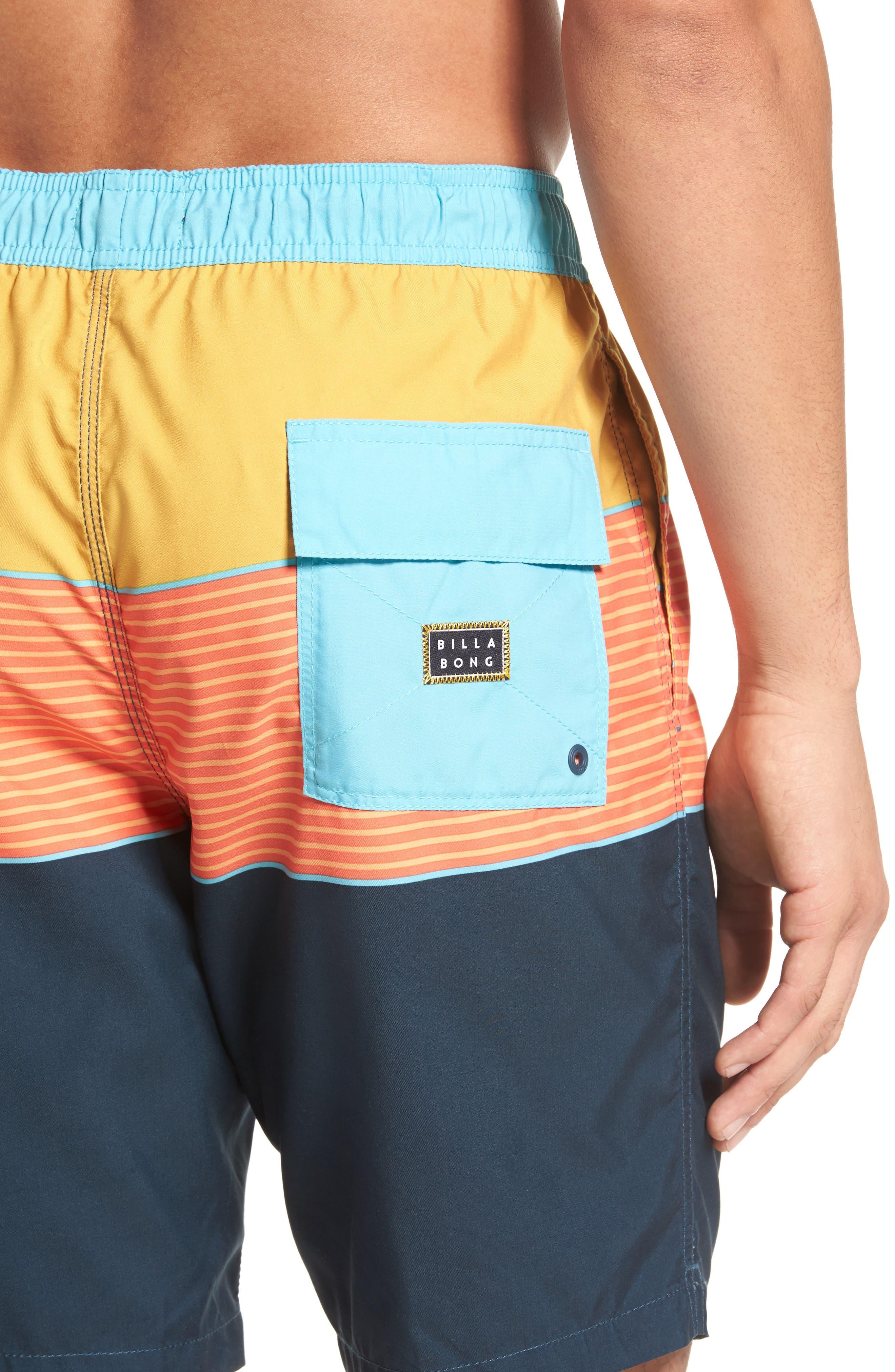 Tribong Layback Board Shorts,                             Alternate thumbnail 8, color,