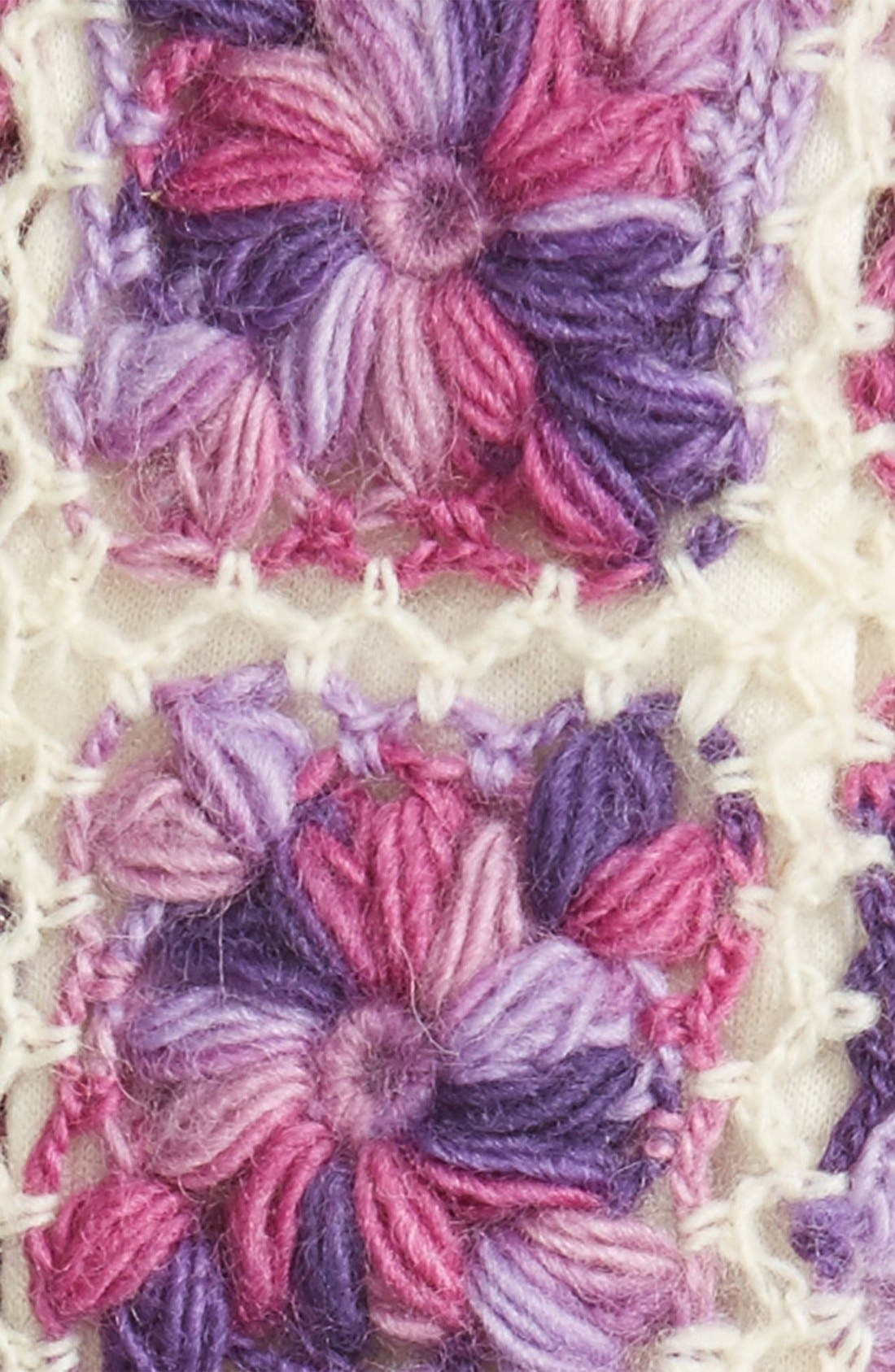 Flower Crochet Hand Warmers,                             Alternate thumbnail 13, color,