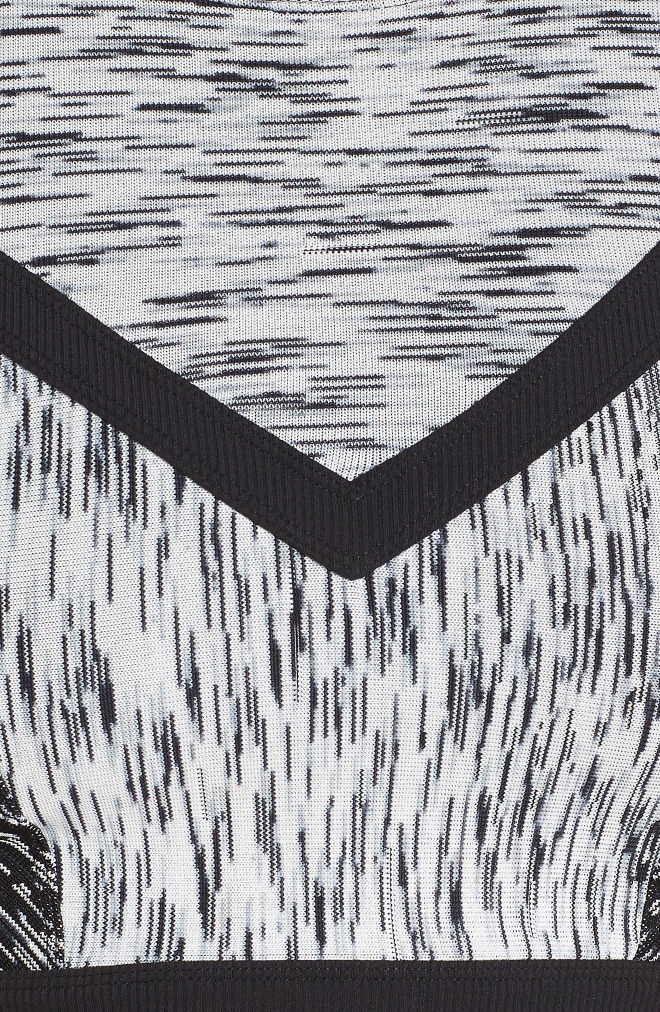 Static Sports Bra,                             Alternate thumbnail 6, color,                             BLACK ONYX