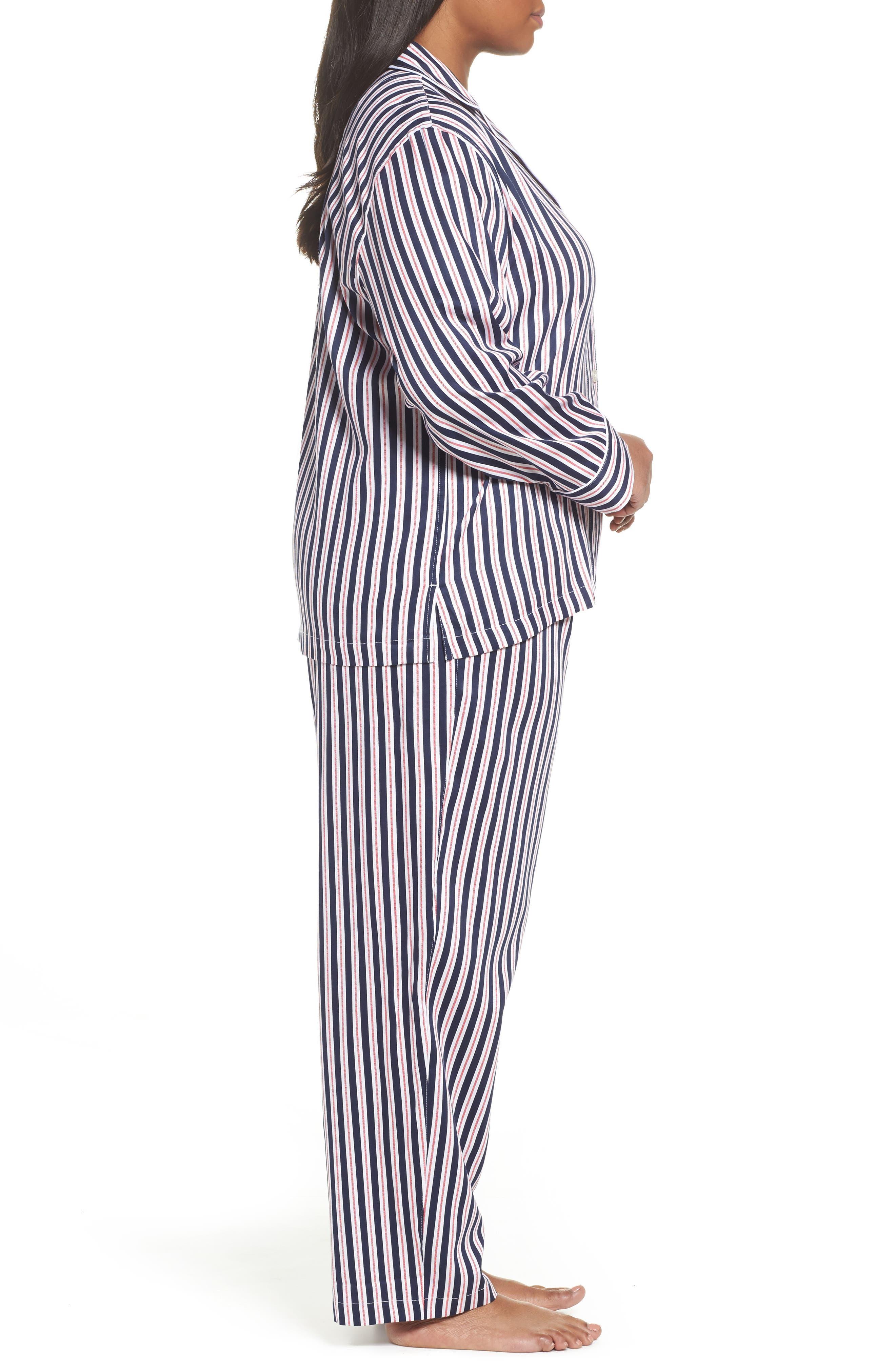 Sateen Pajamas,                             Alternate thumbnail 3, color,