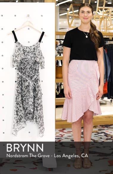 Cold Shoulder Chiffon Dress, sales video thumbnail