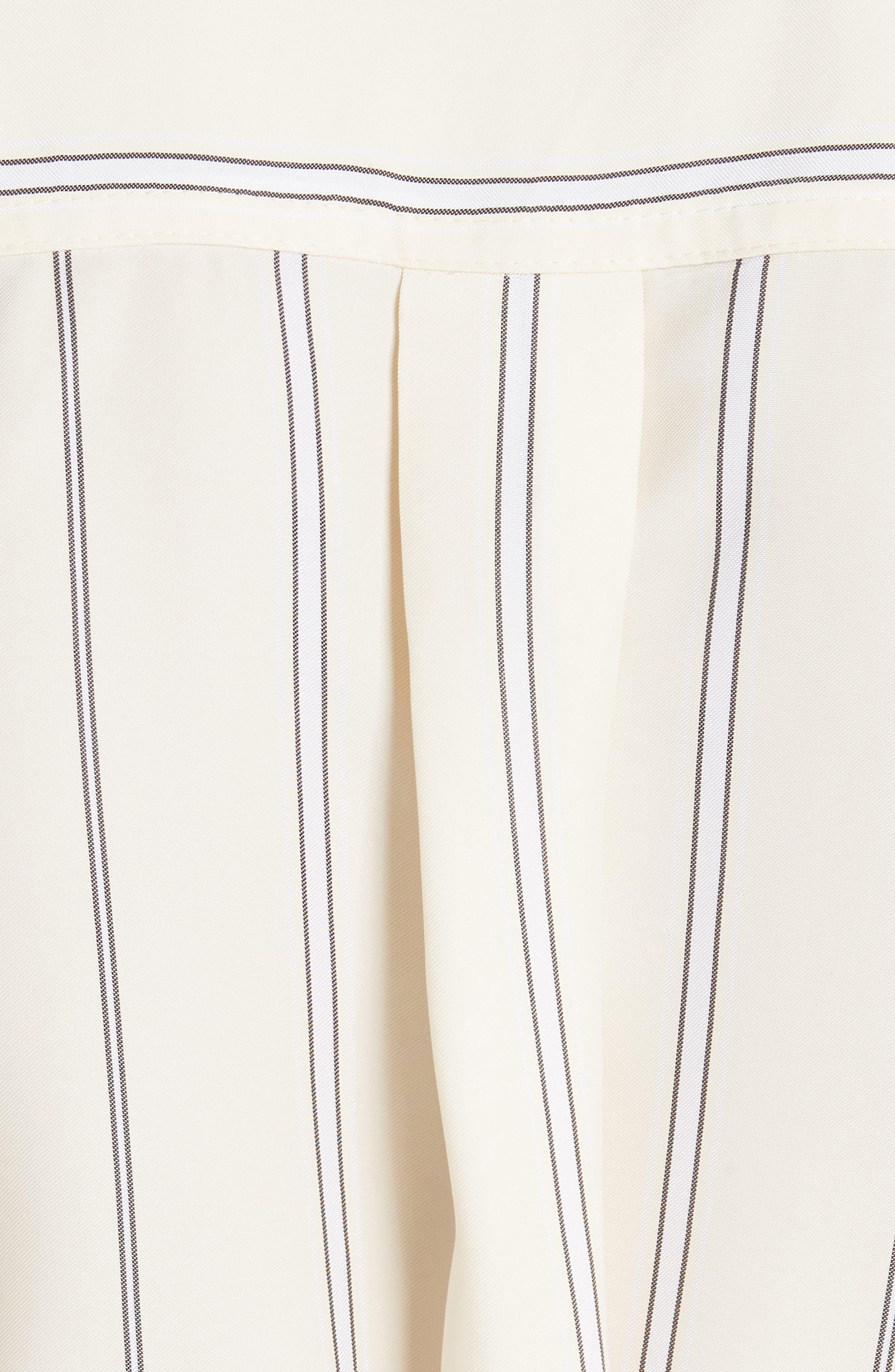 Asymmetrical Stripe Shirt,                             Alternate thumbnail 5, color,