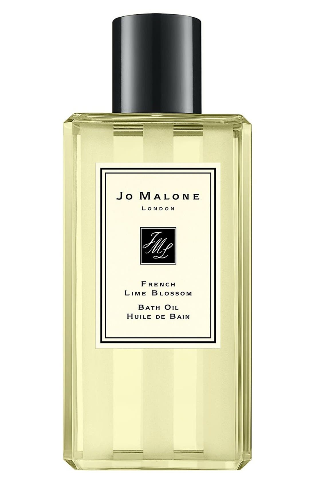 Jo Malone<sup>™</sup> 'French Lime Blossom' Bath Oil,                             Main thumbnail 1, color,                             000