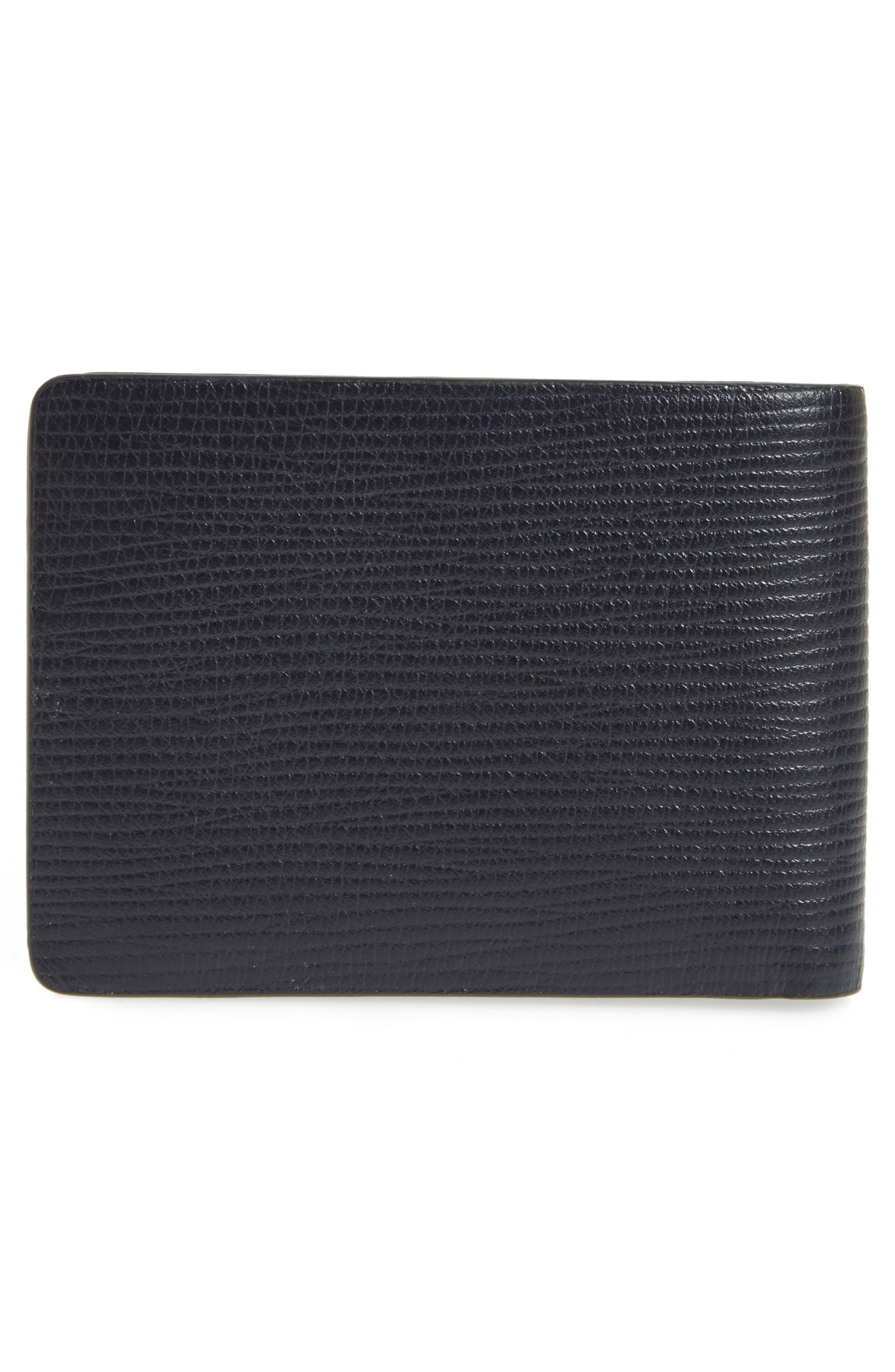 Timeless Leather Wallet,                             Alternate thumbnail 3, color,                             411