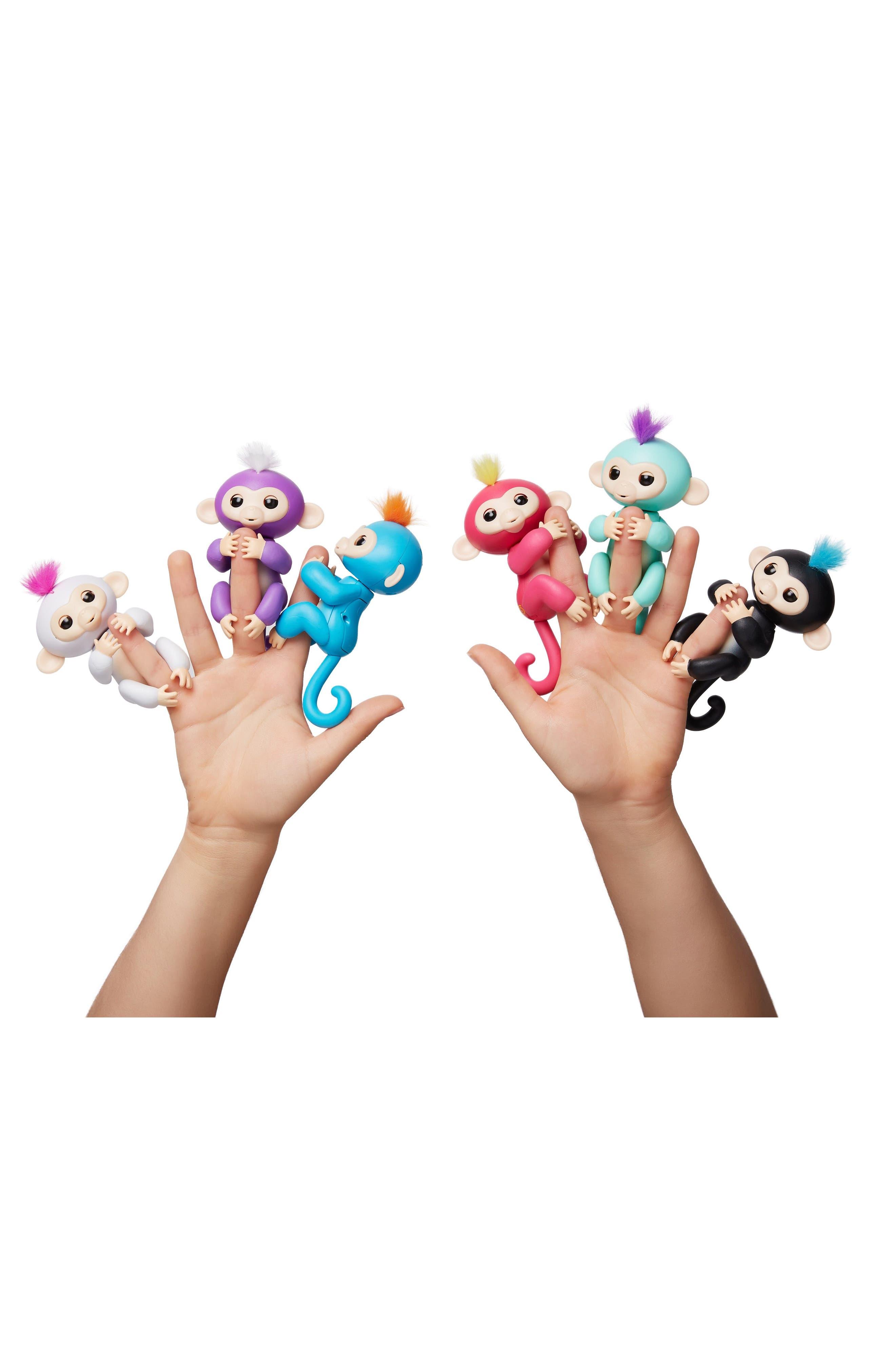 Monkey Fingerling Toy,                             Alternate thumbnail 4, color,                             001