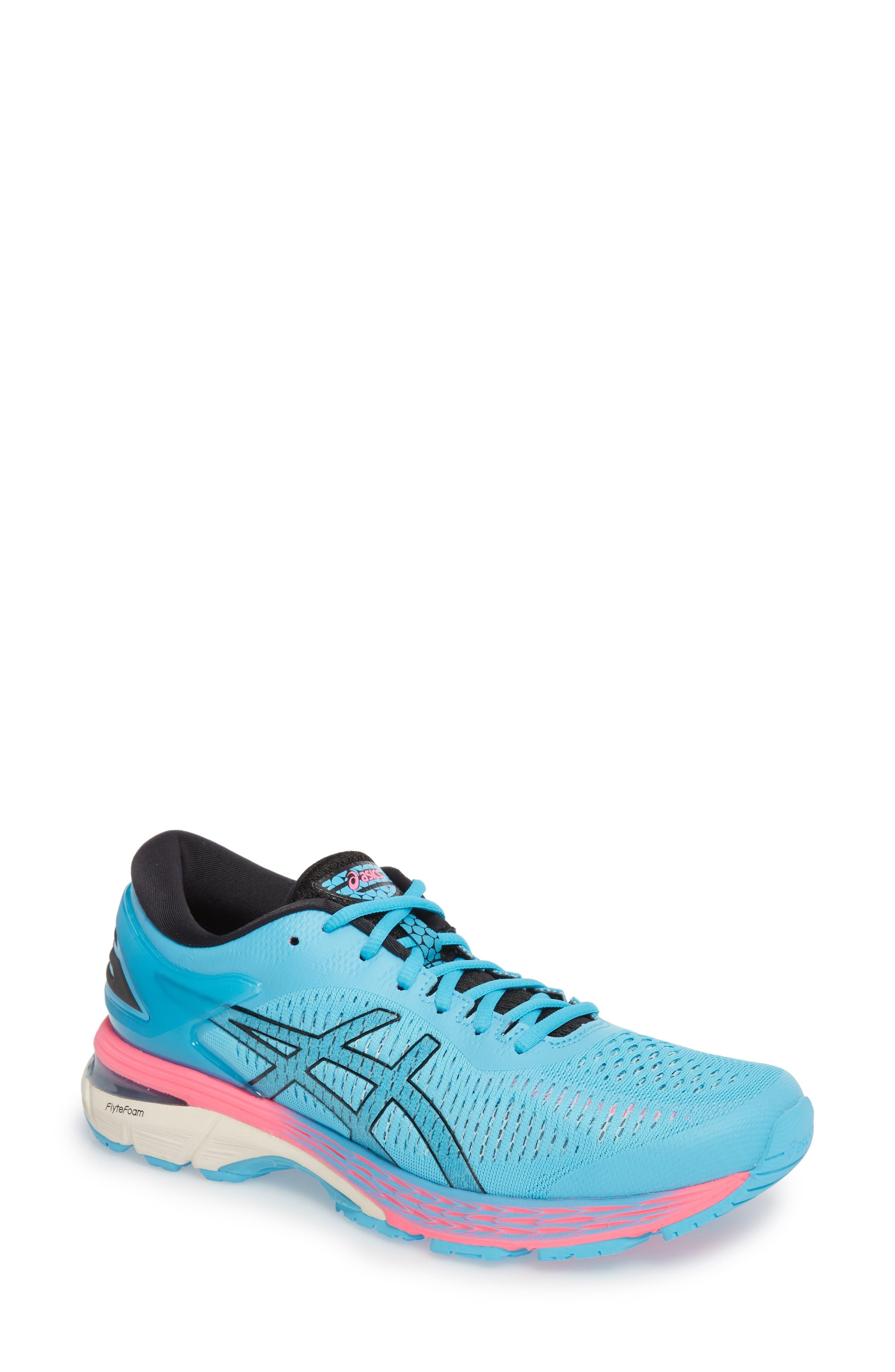 GEL-Kayano<sup>®</sup> 25 Running Shoe,                         Main,                         color, AQUARIUM/ BLACK