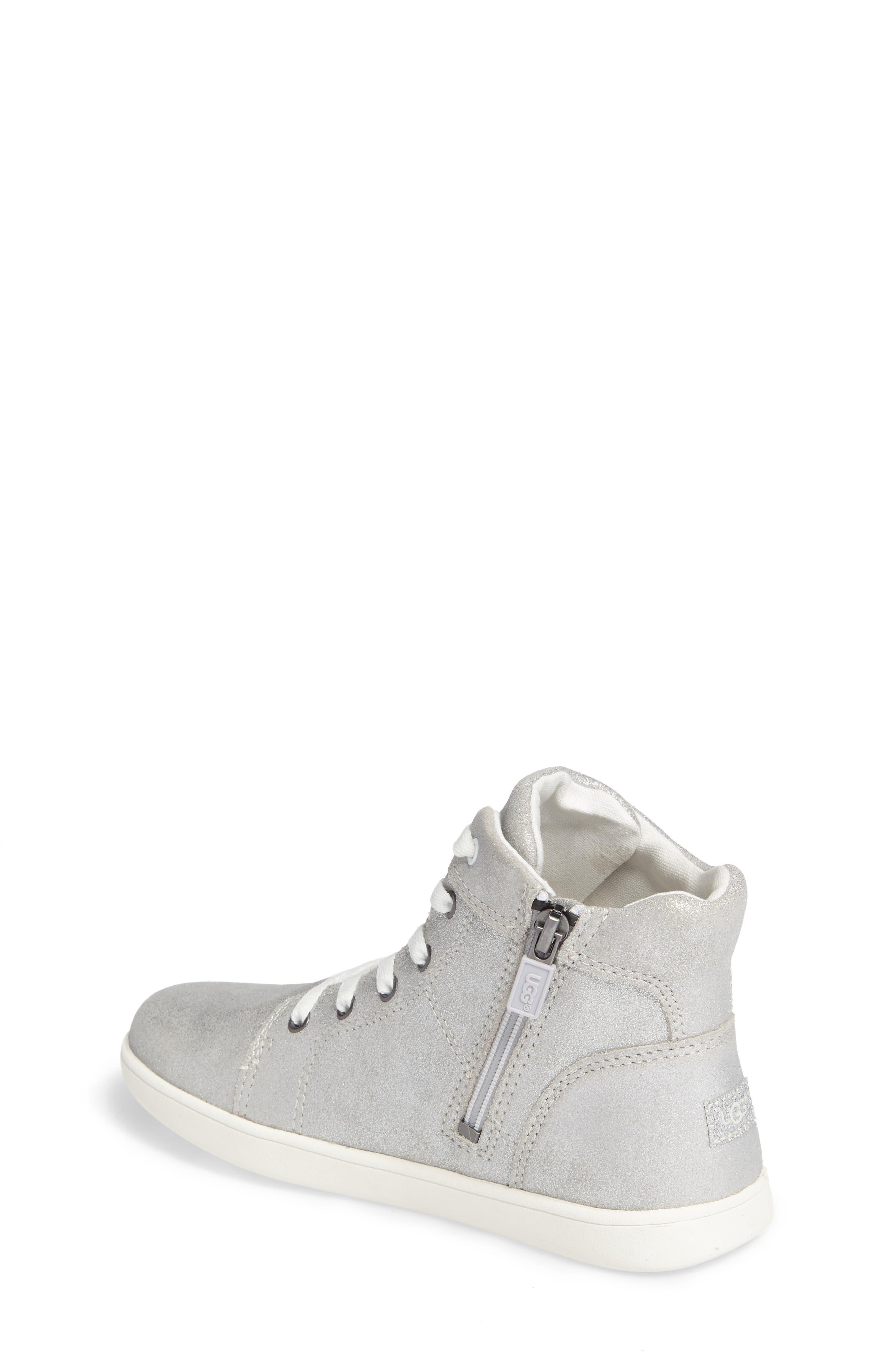 Schyler Metallic High Top Sneaker,                             Alternate thumbnail 2, color,                             040