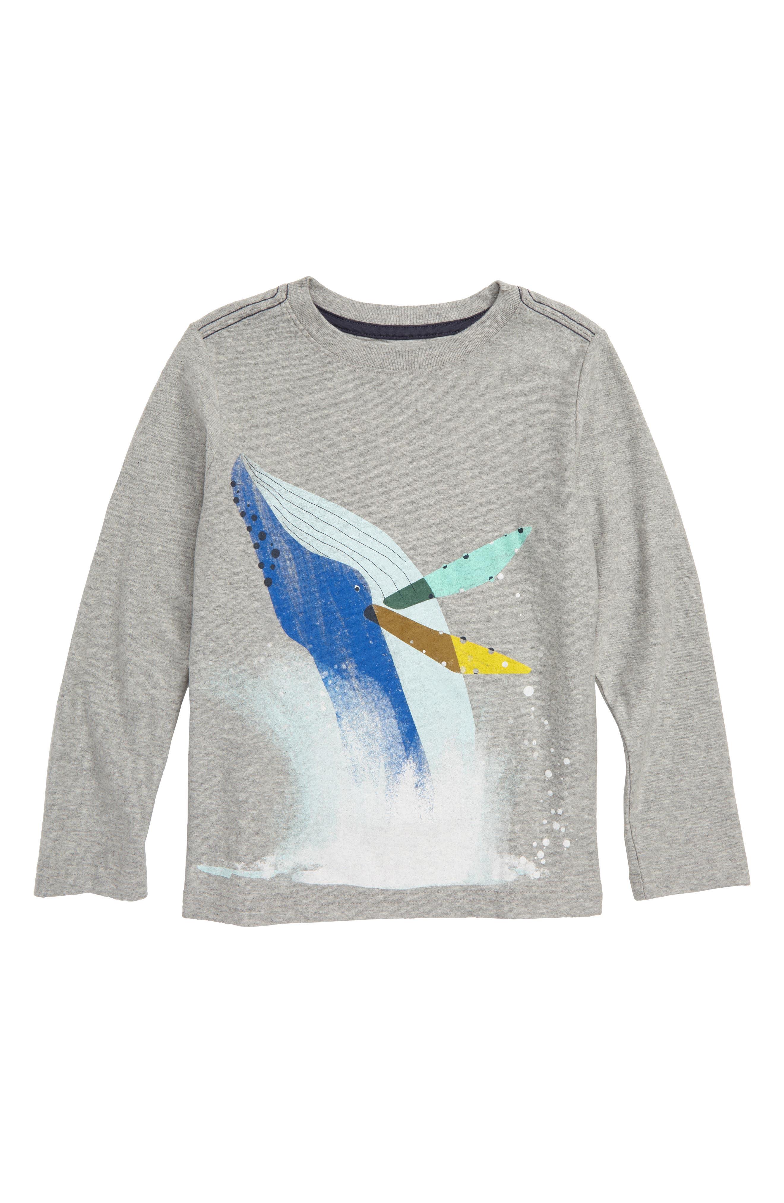 Whale Splash Graphic T-Shirt,                             Main thumbnail 1, color,                             035
