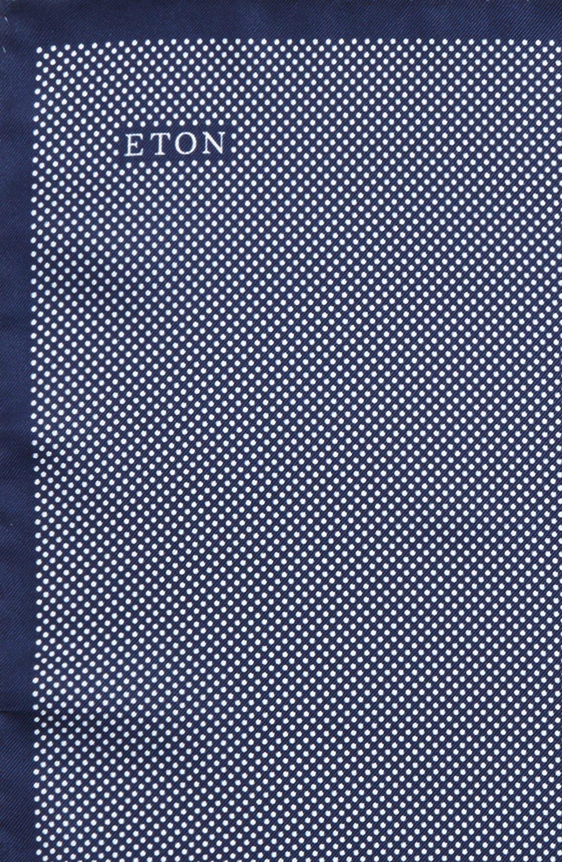 Dot Silk Pocket Square,                             Alternate thumbnail 19, color,