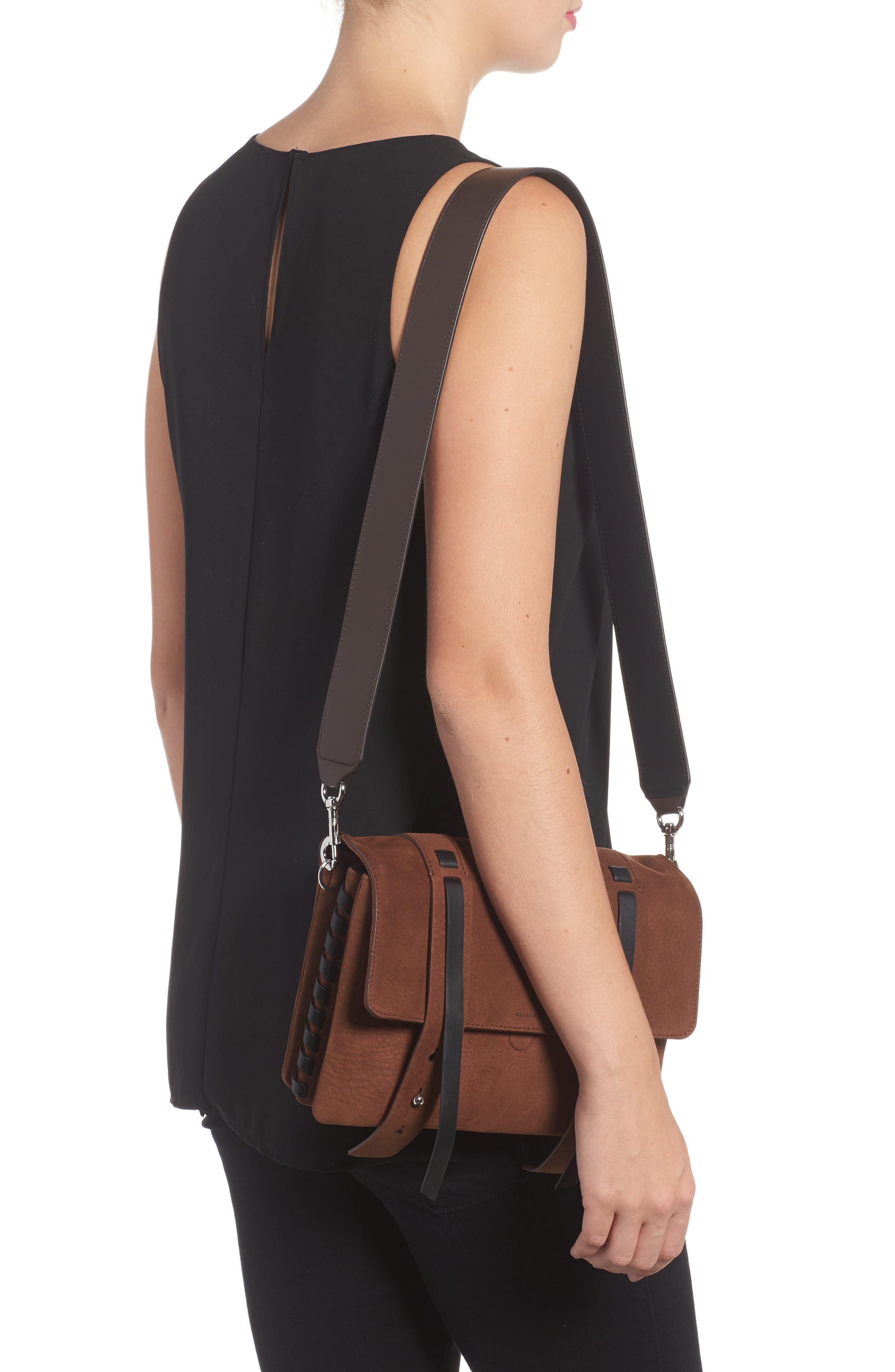 Fin Leather Box Bag,                             Alternate thumbnail 2, color,                             200