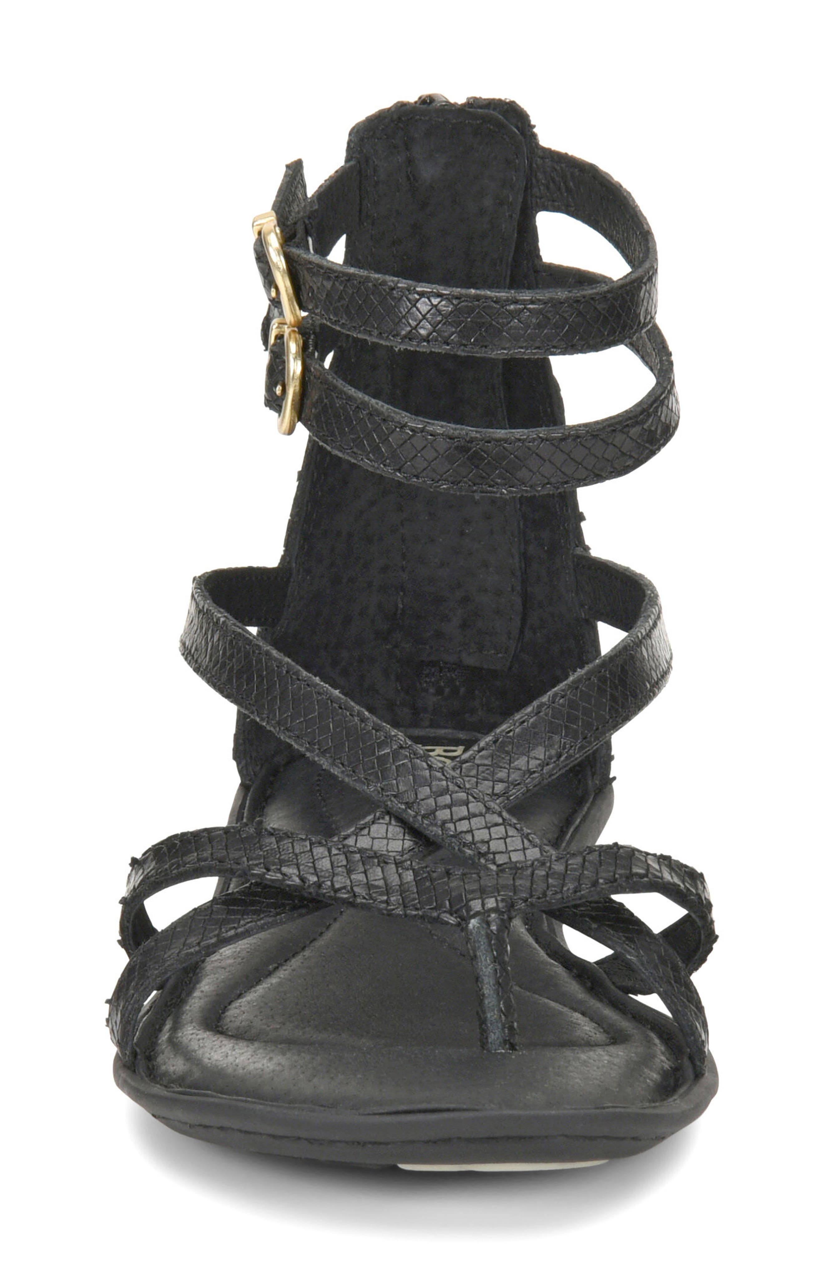 Mai Gladiator Sandal,                             Alternate thumbnail 4, color,                             001