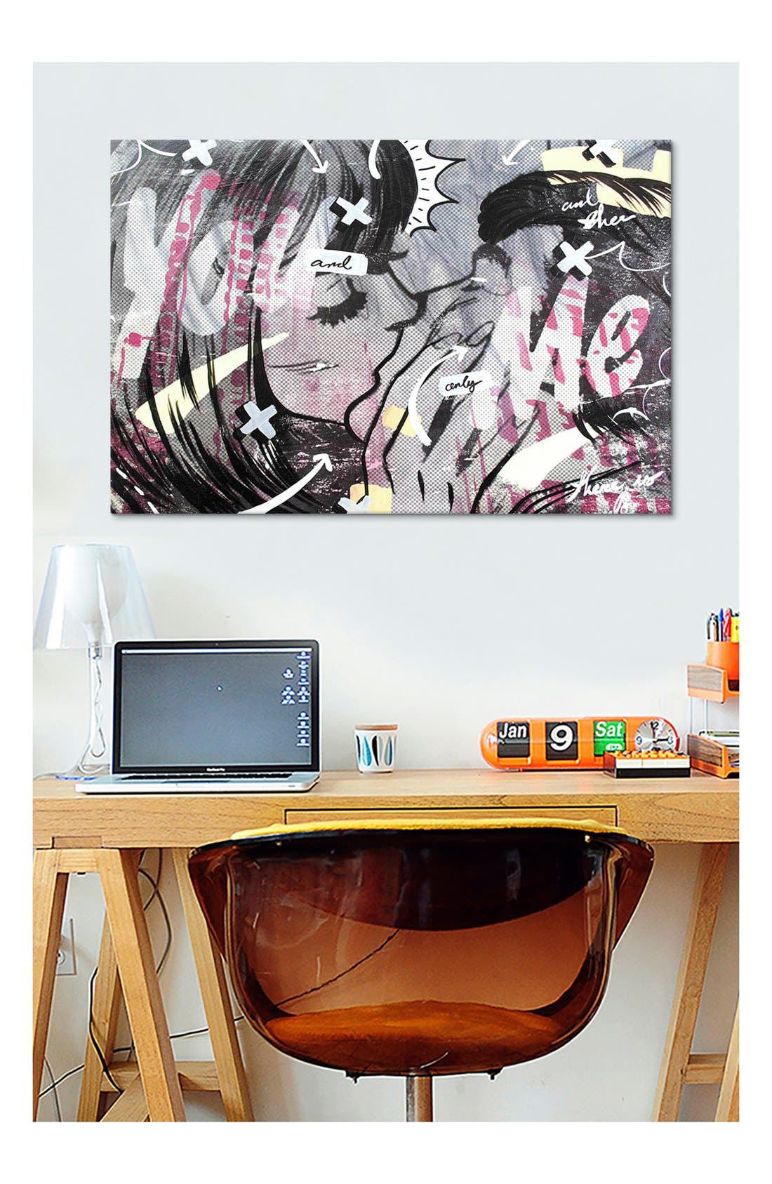 'And Only' Giclée Print Canvas Art,                             Alternate thumbnail 2, color,                             100