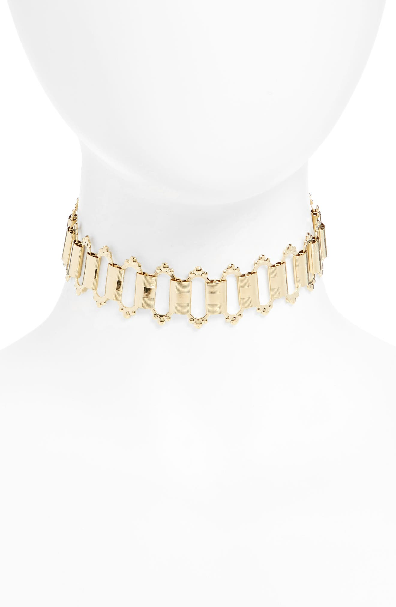 Sulai Choker Necklace,                             Main thumbnail 1, color,                             710